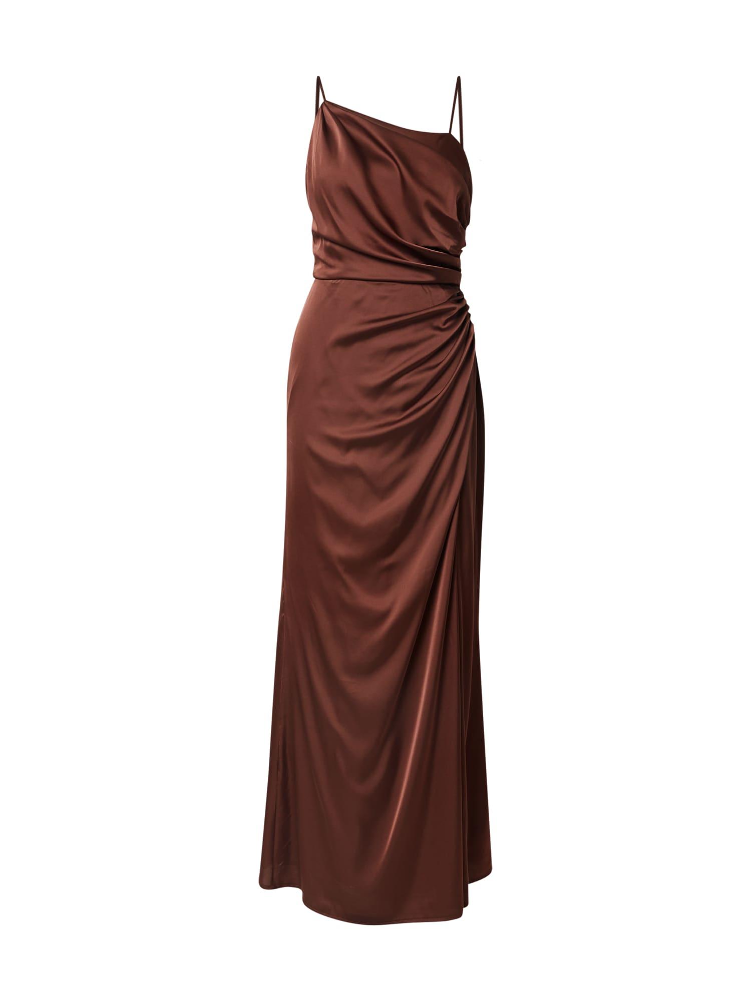 TFNC Společenské šaty 'Lylah'  hnědá
