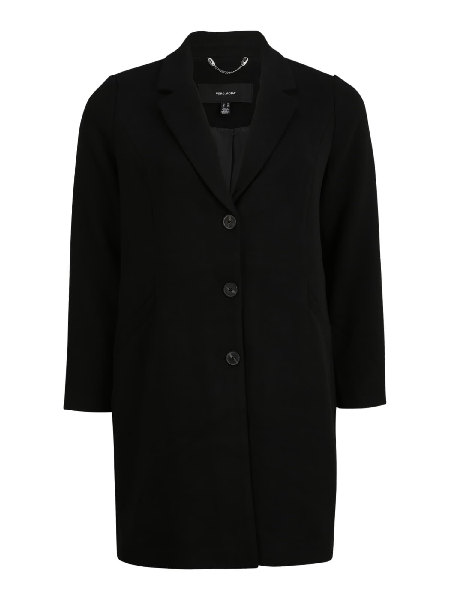 Vero Moda Curve Přechodný kabát 'Cindy'  černá