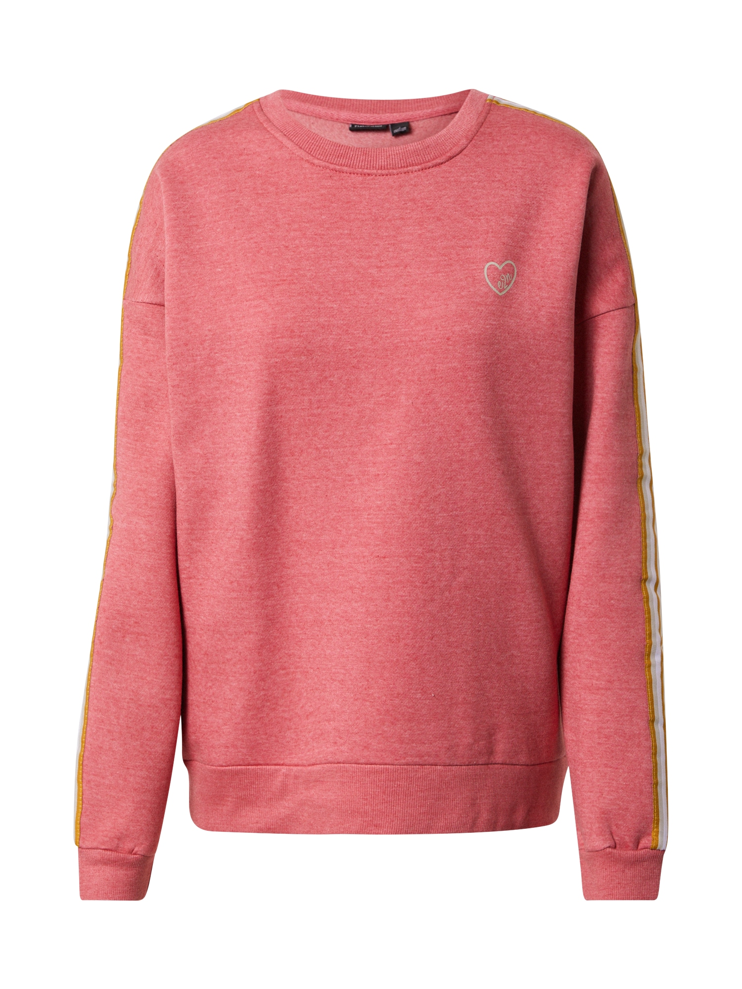 Eight2Nine Megztinis be užsegimo margai rožinė / garstyčių spalva / balta