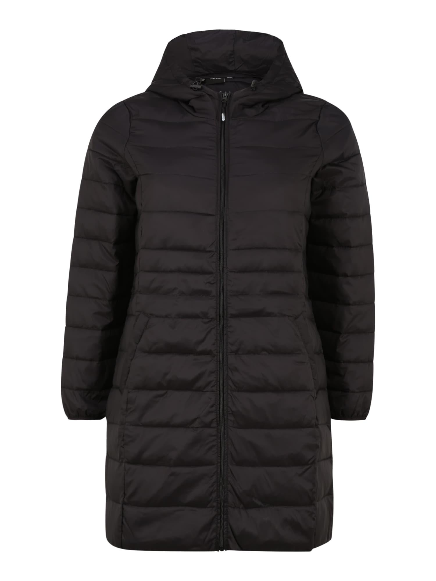 Vero Moda Curve Zimní bunda 'Mikkola'  černá