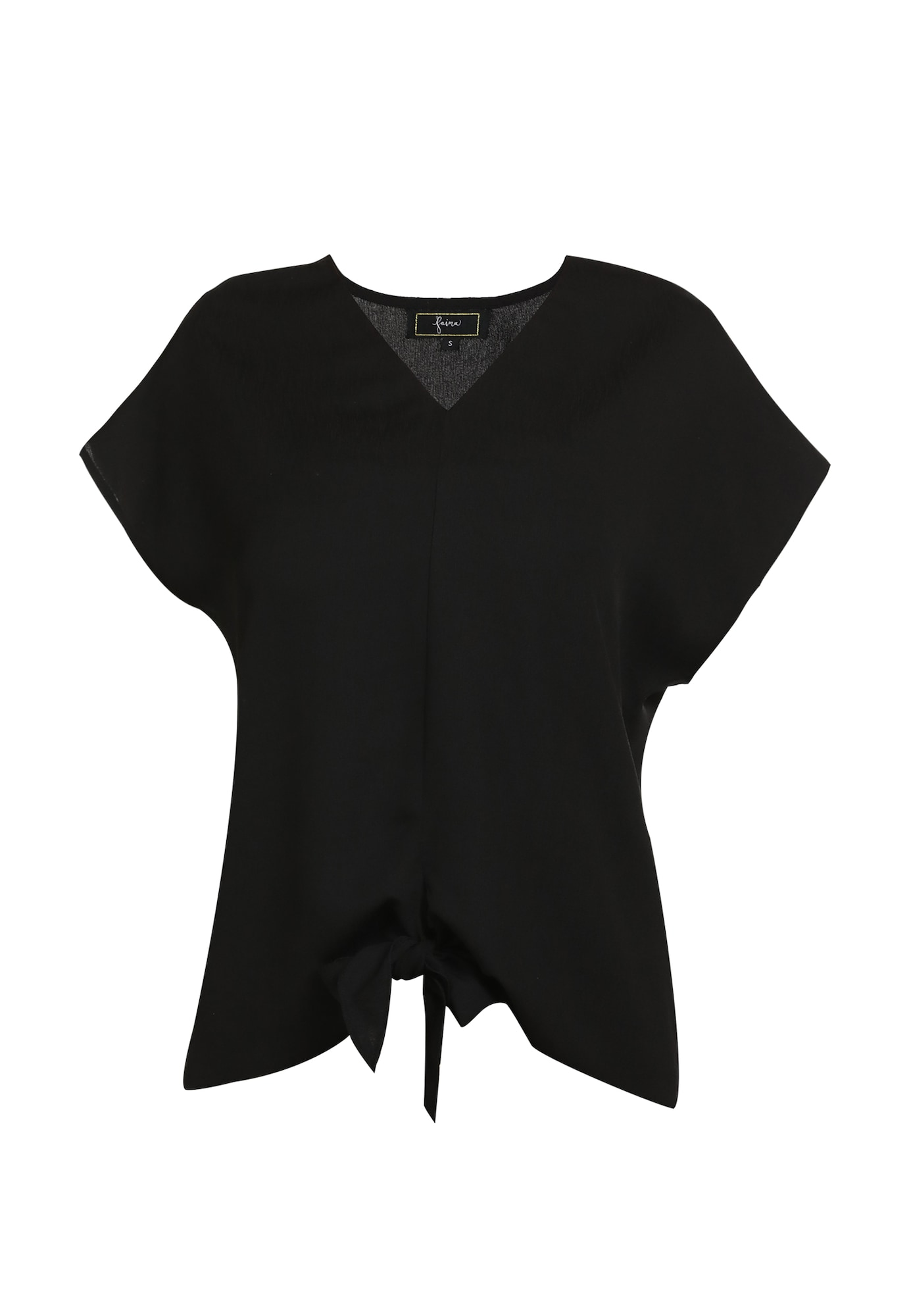 faina Marškinėliai juoda
