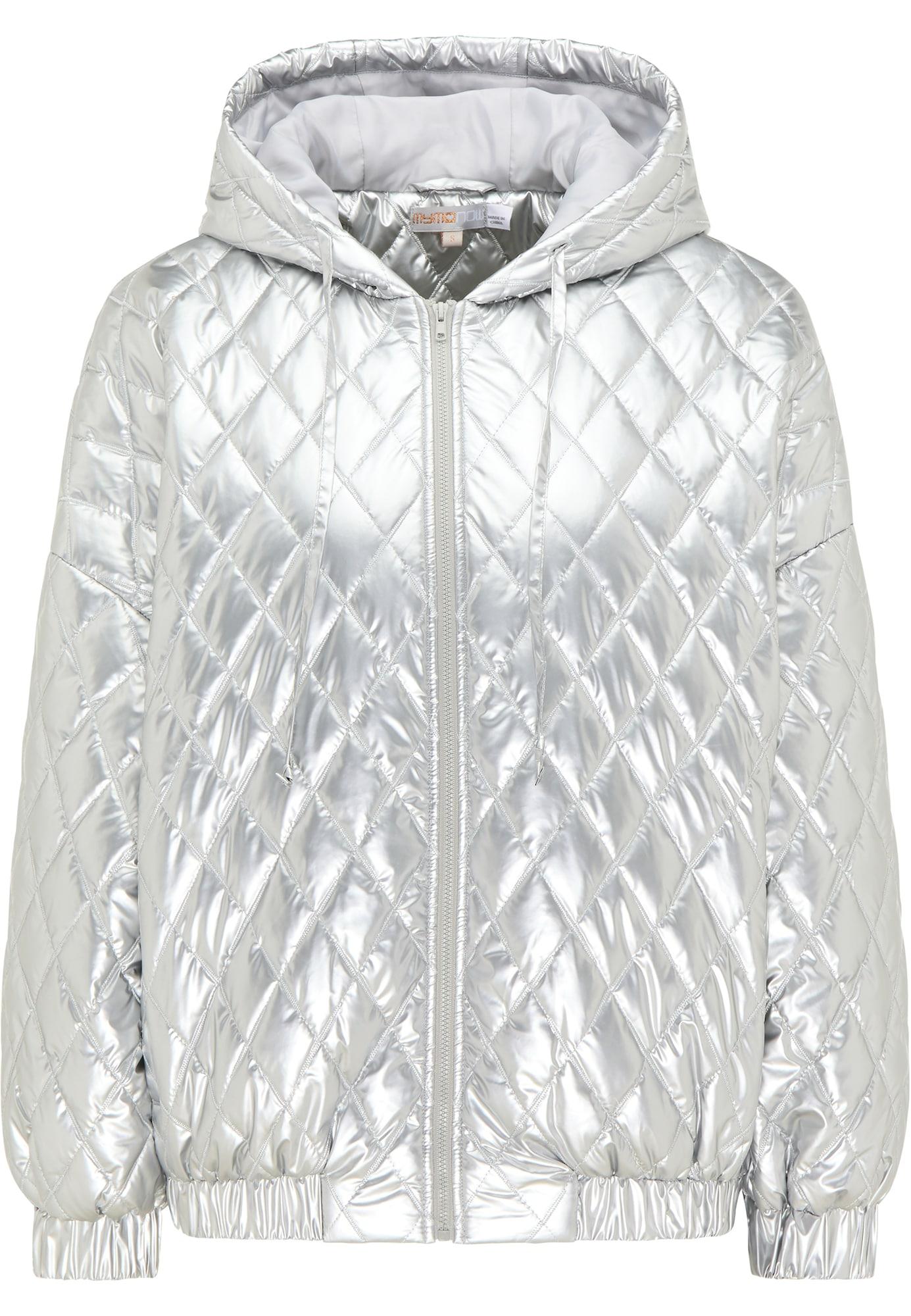 myMo NOW Žieminė striukė sidabrinė