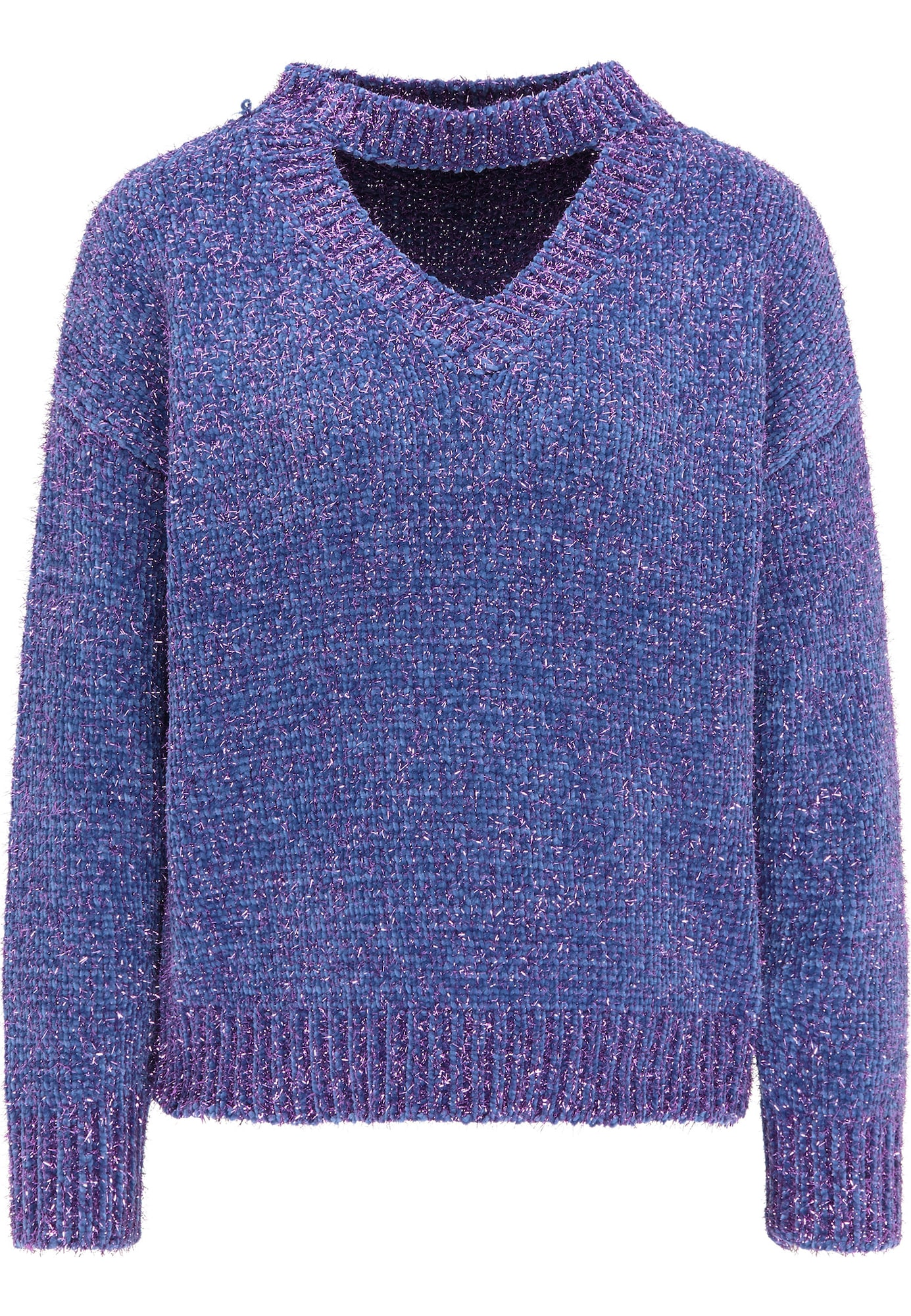 myMo at night Megztinis tamsiai violetinė / mėlyna
