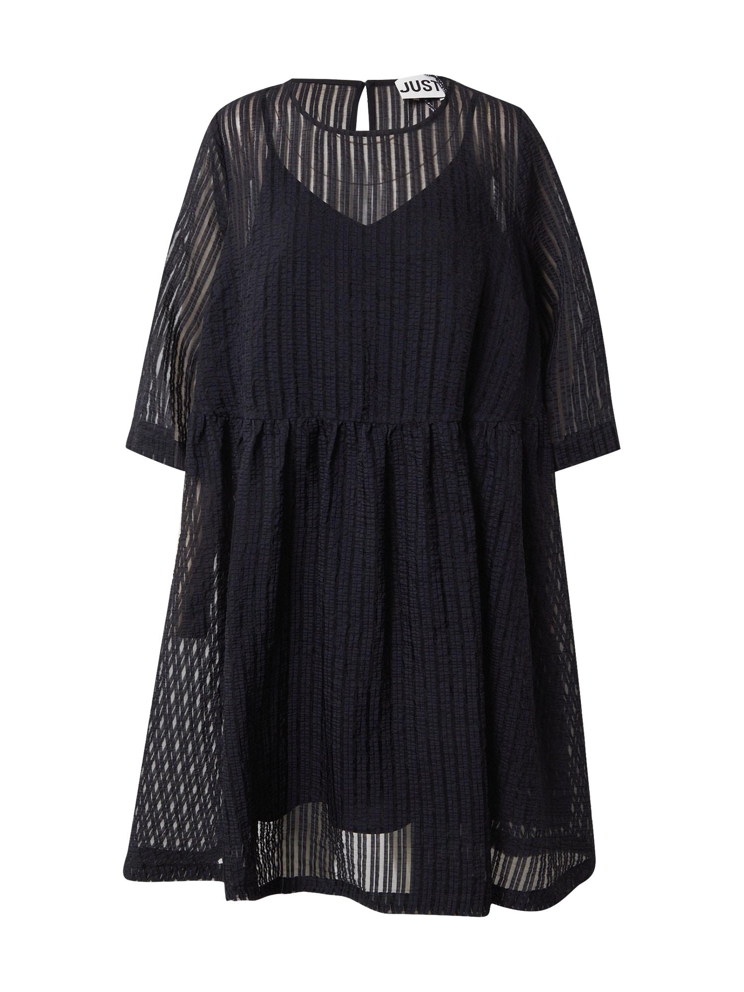 JUST FEMALE Suknelė juoda