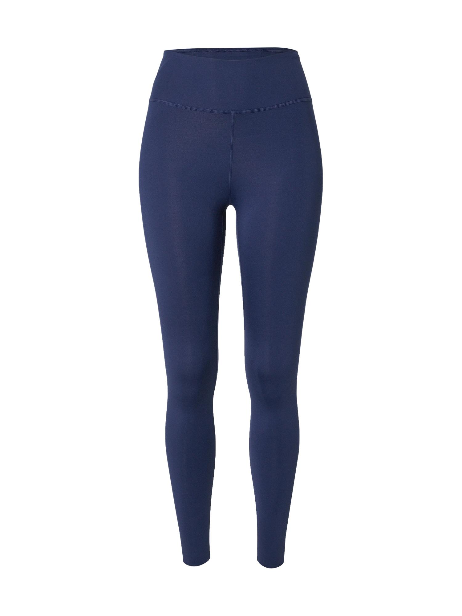 NIKE Sportovní kalhoty 'One Luxe'  námořnická modř