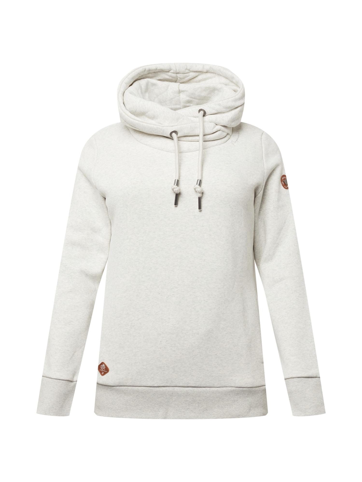 Ragwear Plus Megztinis be užsegimo margai balta