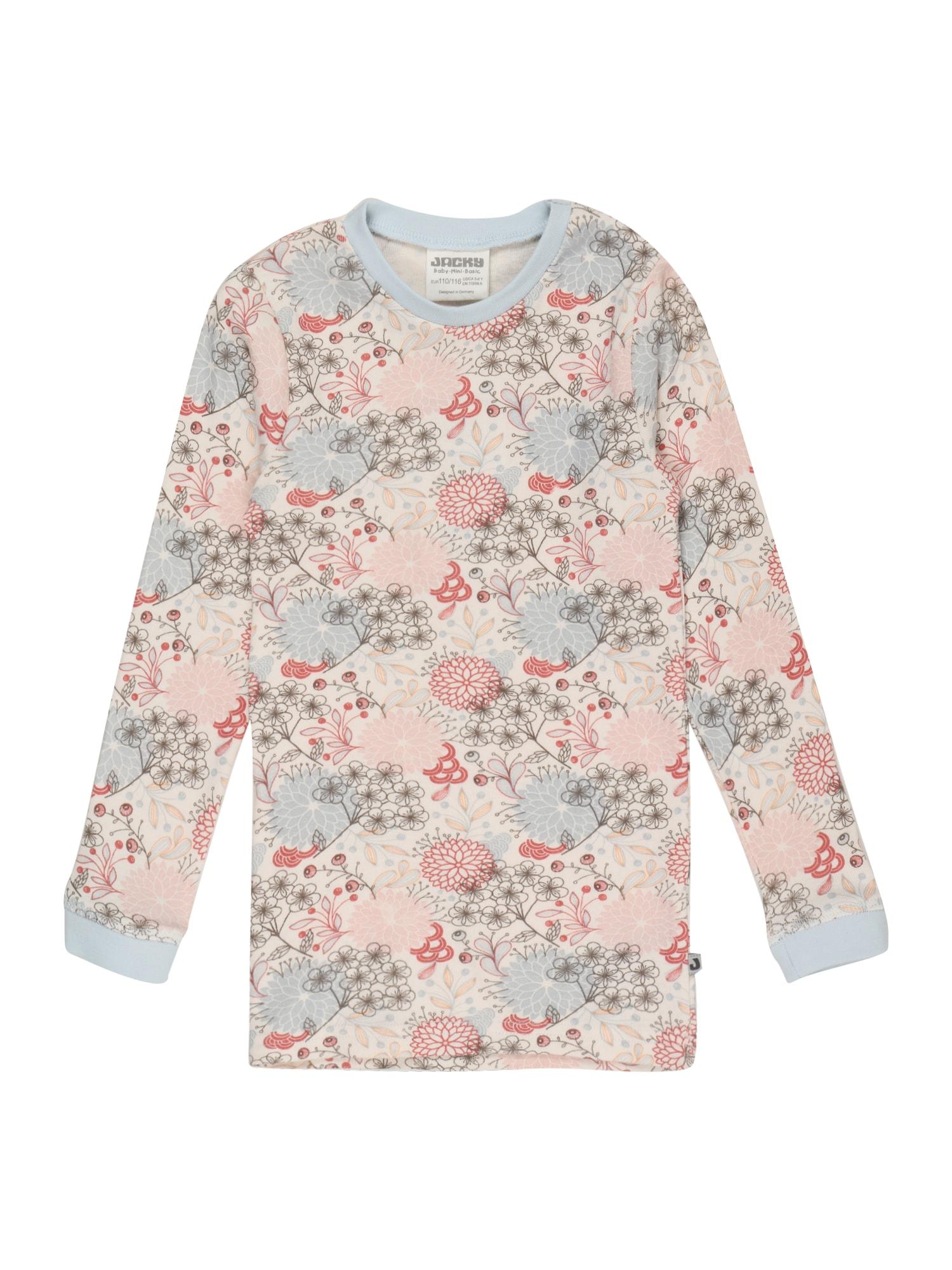JACKY Apatiniai marškinėliai smėlio spalva / opalo / rožių spalva / grafito / pastelinė raudona