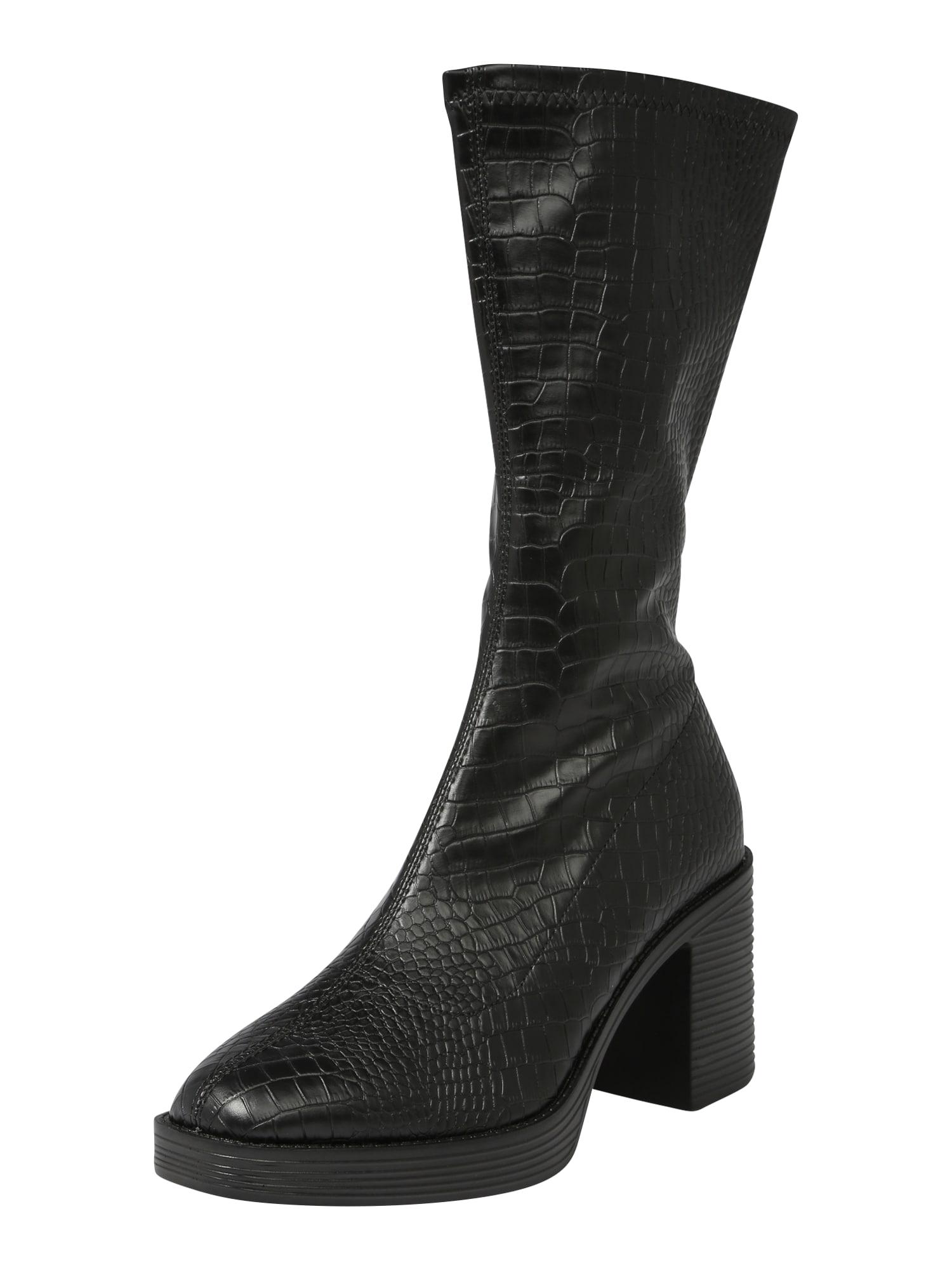 Public Desire Auliniai batai su kulniuku 'Generate' juoda