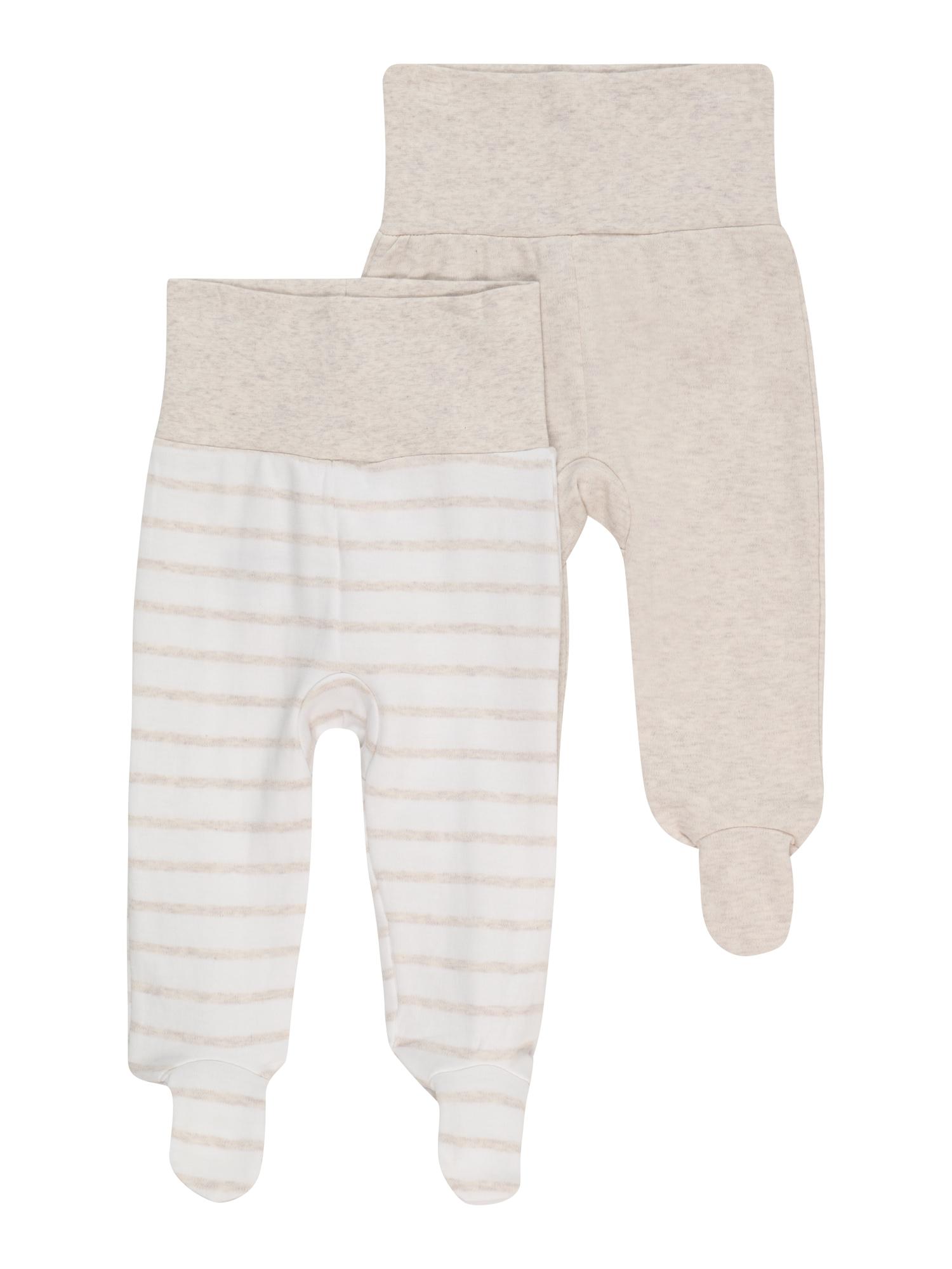 JACKY Kelnės balta / marga smėlio spalva