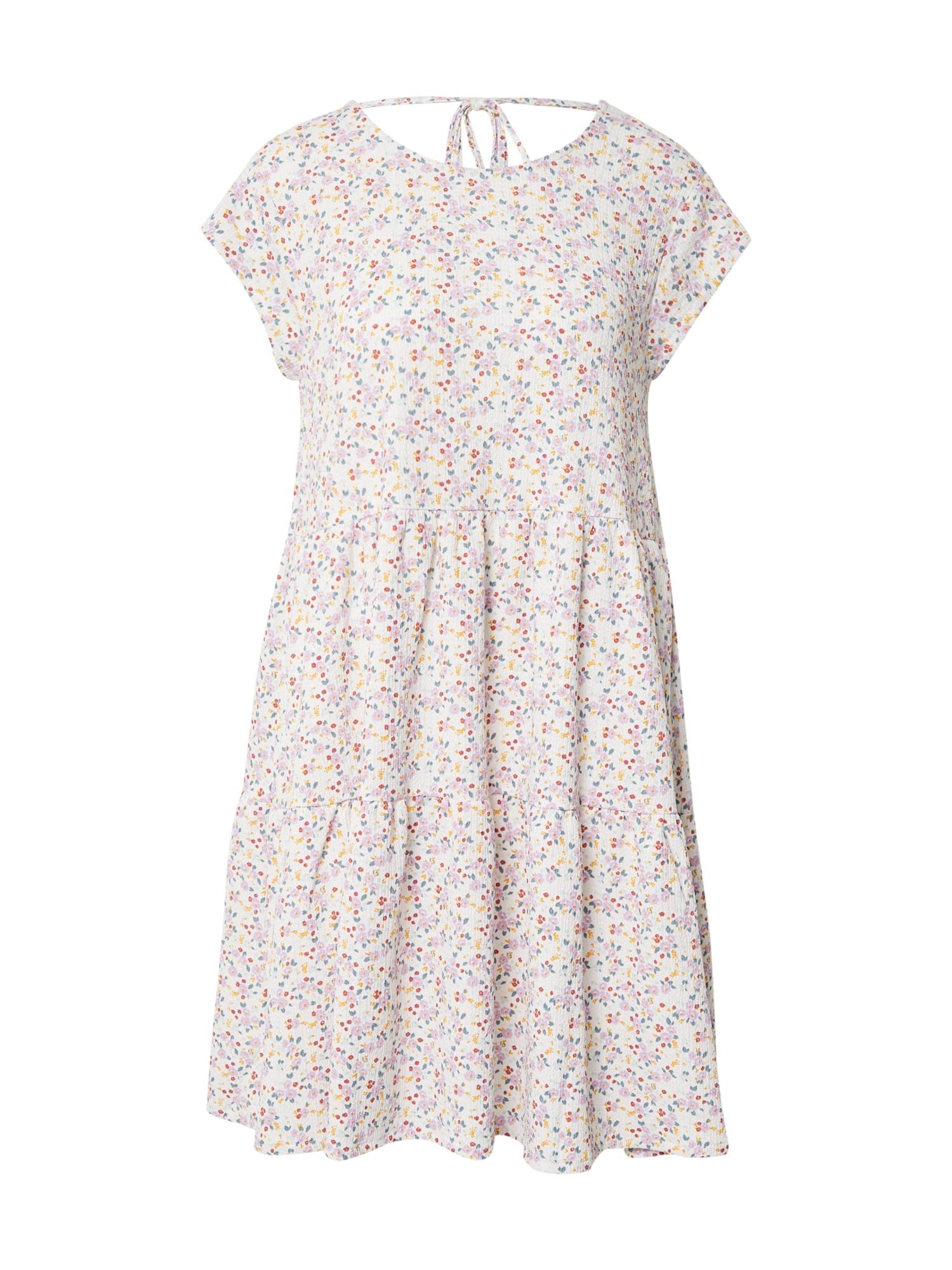 Stitch and Soul Vasarinė suknelė balkšva / rožinė