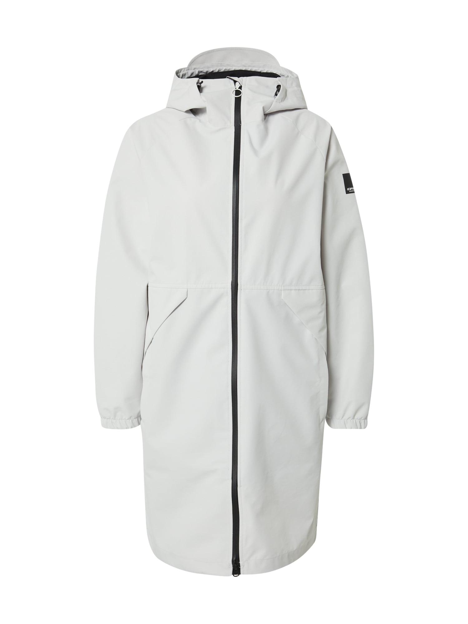 ICEPEAK Striukė-paltas balta / juoda