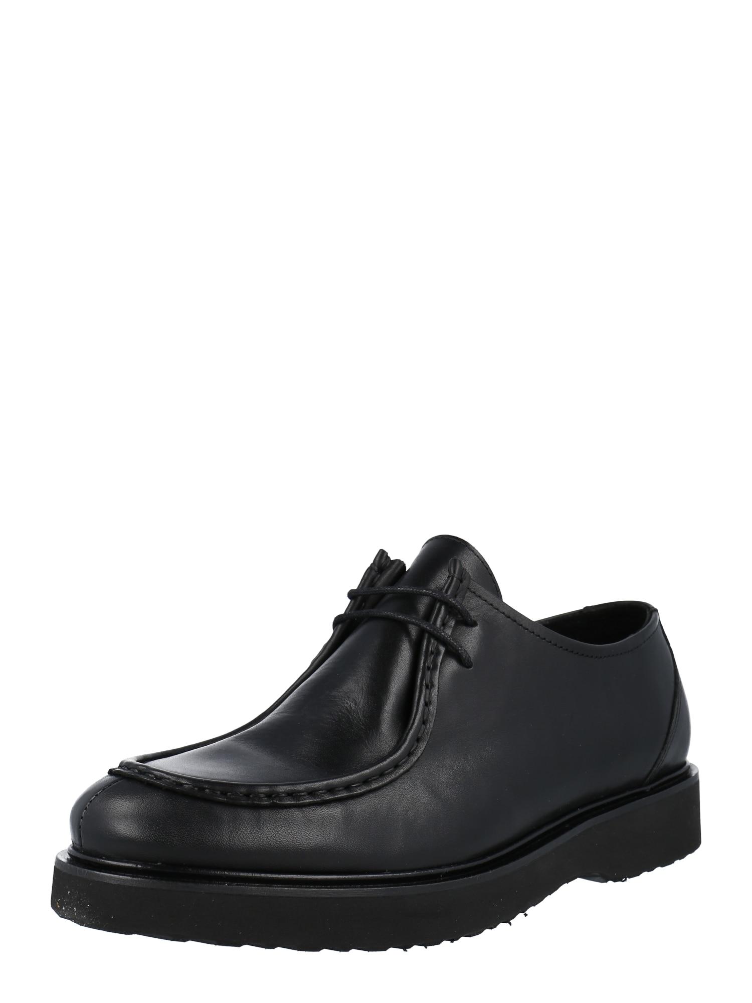 Shoe The Bear Batai su raišteliais juoda