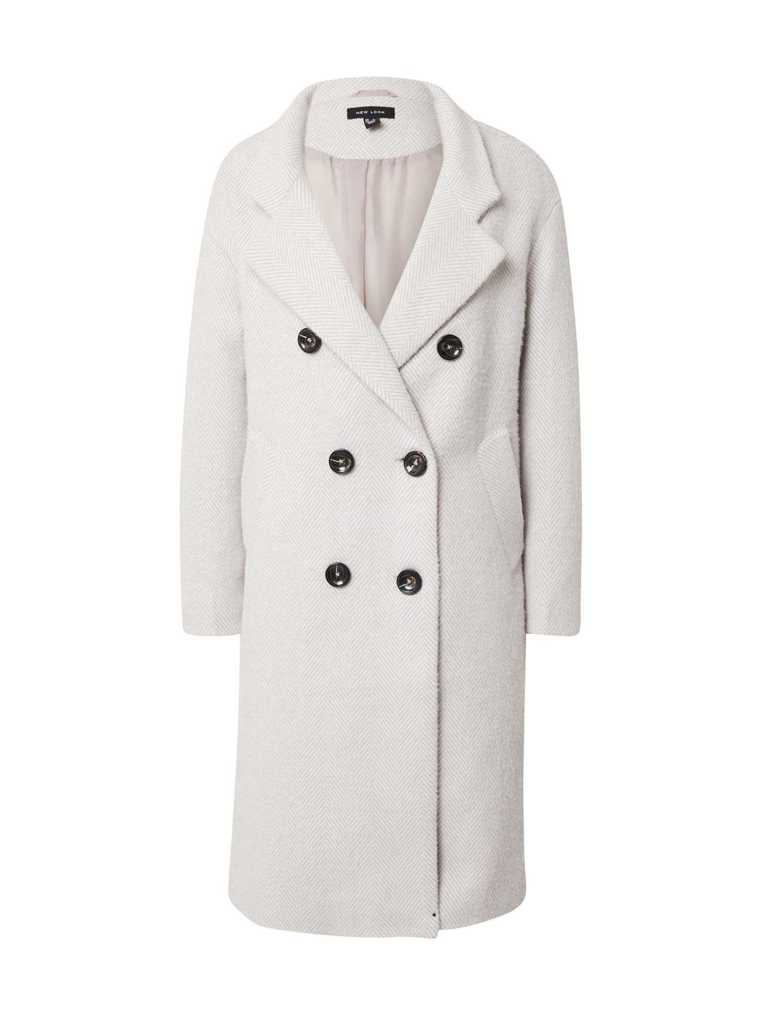 NEW LOOK Demisezoninis paltas šviesiai pilka
