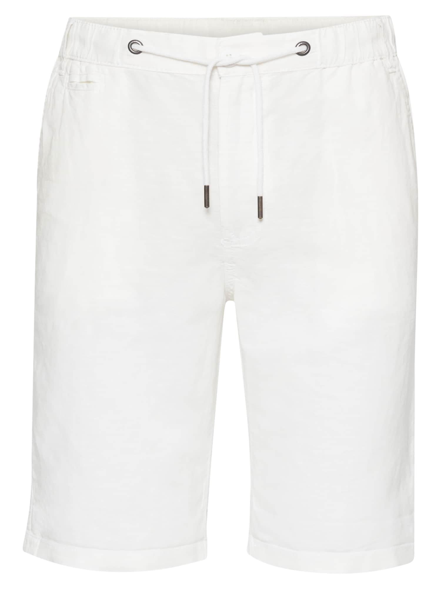 !Solid Kelnės balta