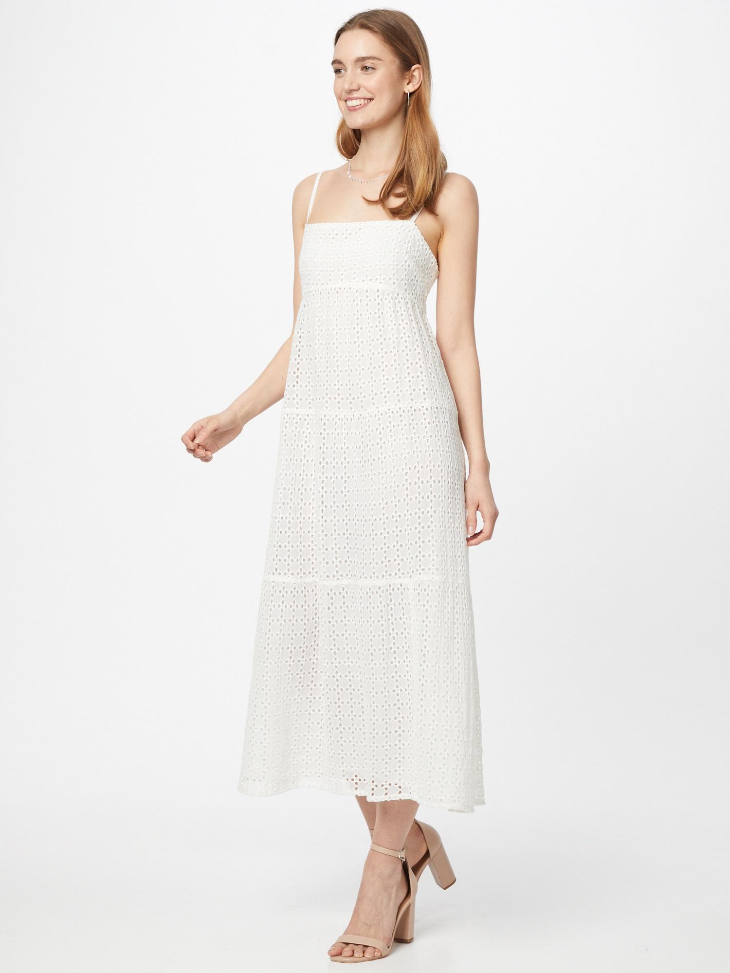 Bardot Šaty  biela.