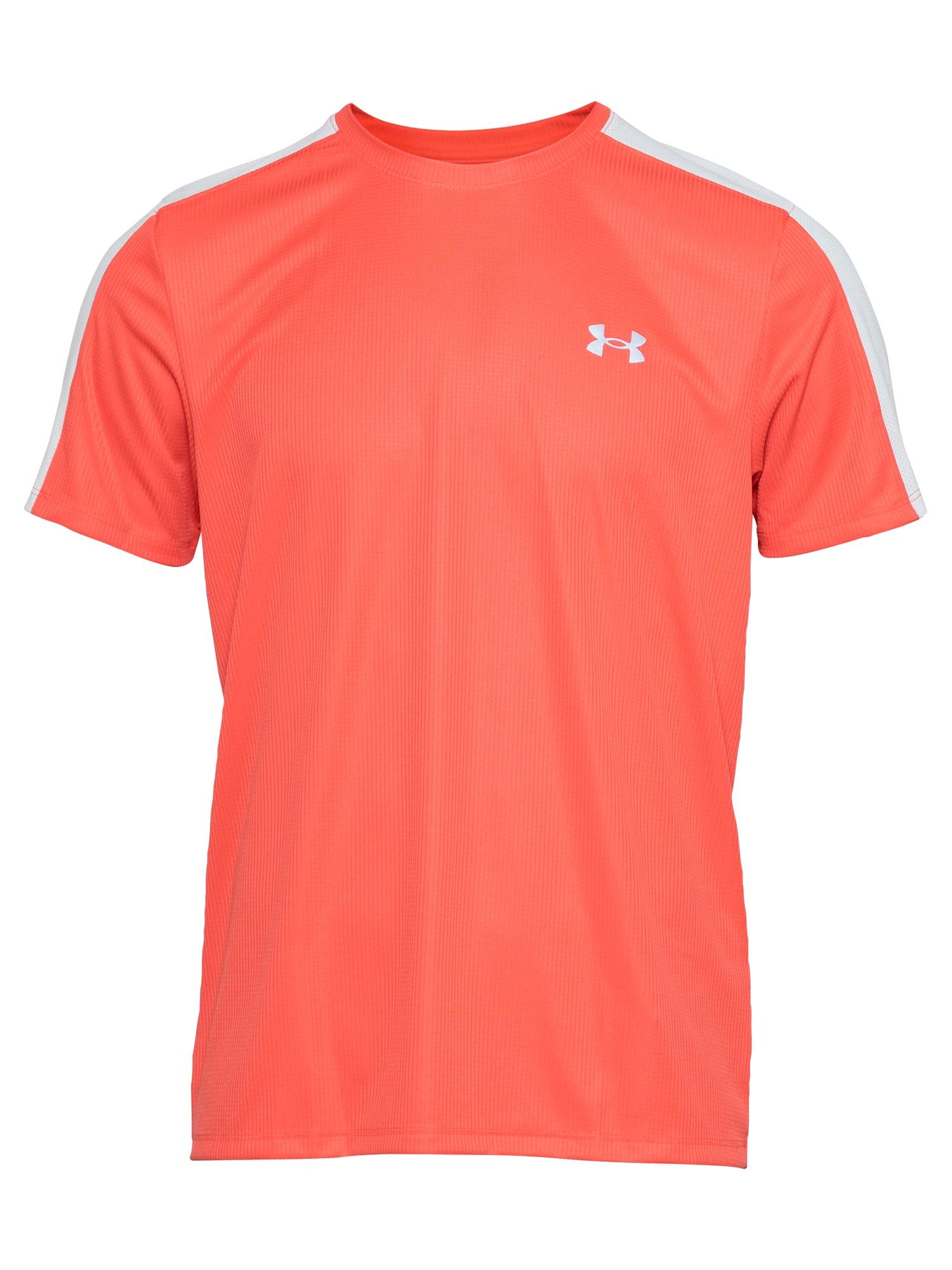 UNDER ARMOUR Marškinėliai raudona / balta