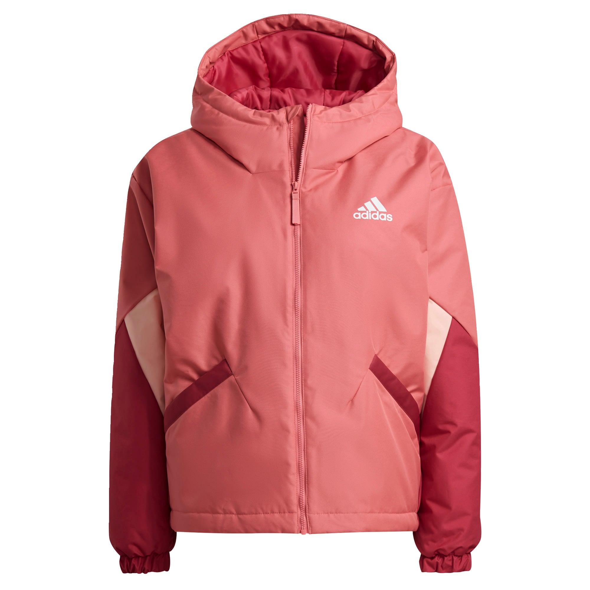 ADIDAS PERFORMANCE Sportinis džemperis rožinė / balta / tamsiai rožinė