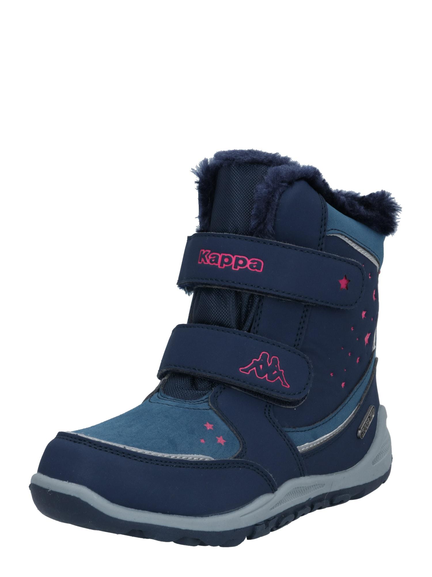 KAPPA Sněhule  námořnická modř / pink