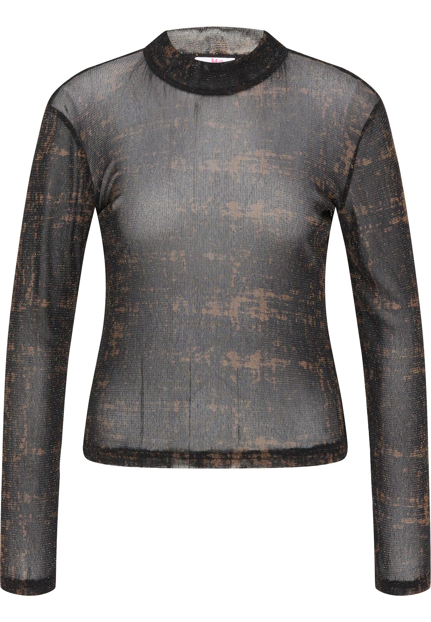 MYMO Megztinis juoda / ruda