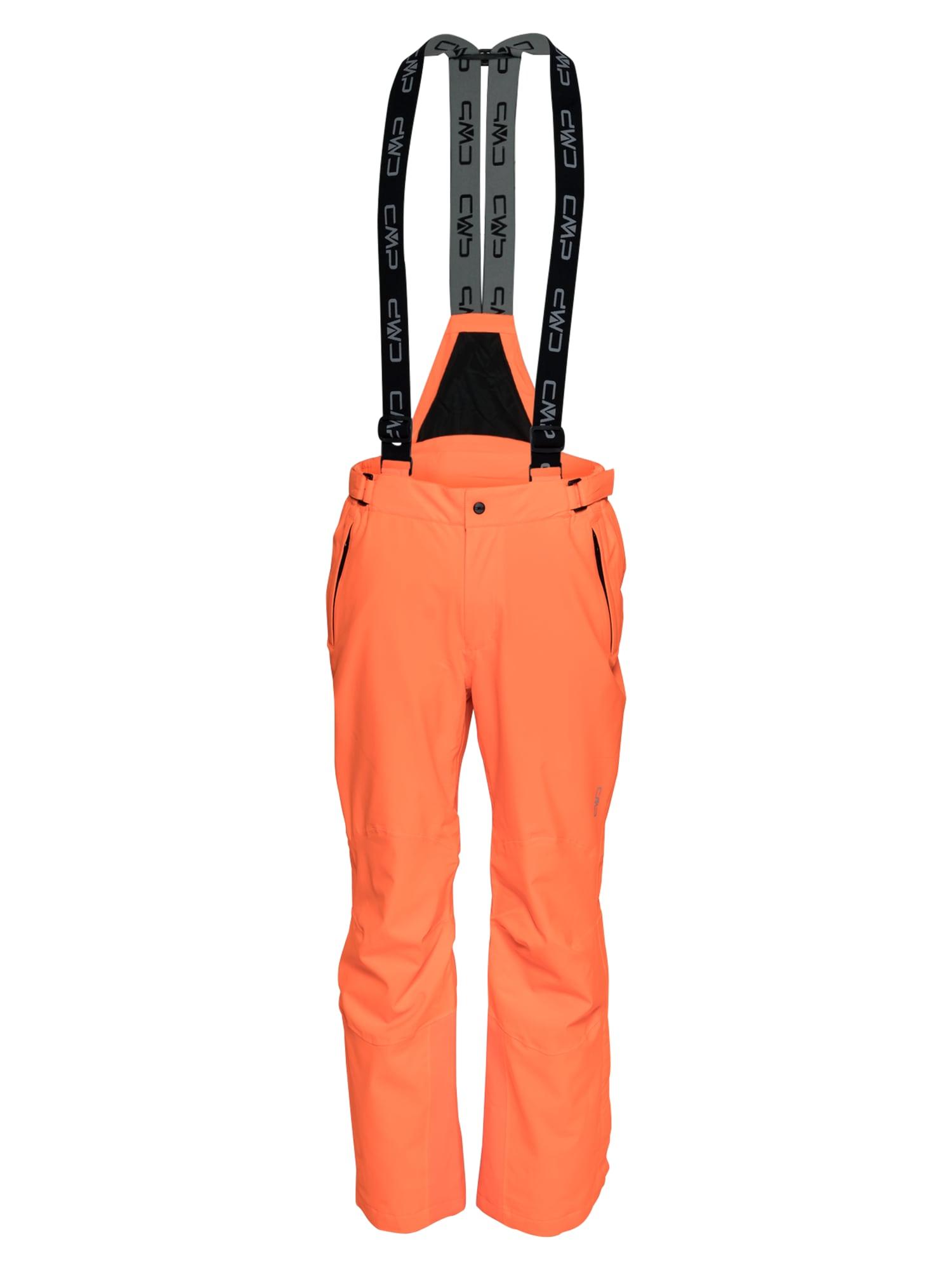 CMP Laisvalaikio kelnės neoninė oranžinė / juoda / bazalto pilka