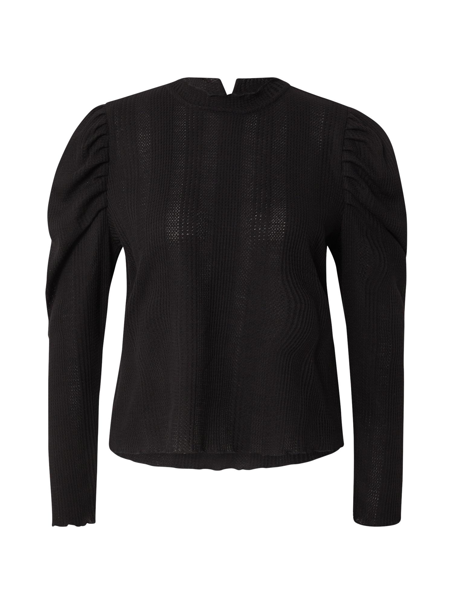 OBJECT Tričko 'LECIA'  černá