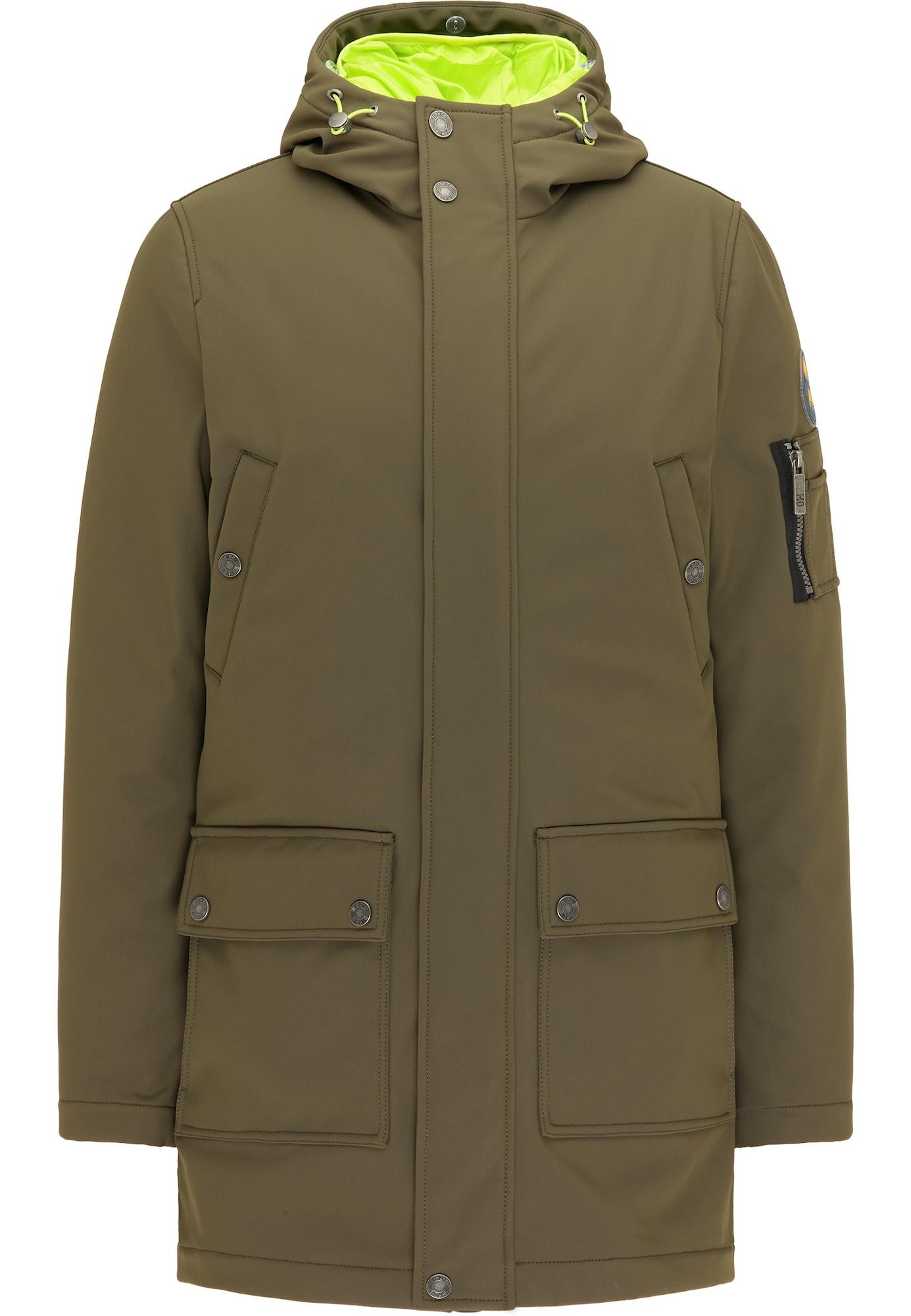 MO Žieminė striukė alyvuogių spalva / kivių spalva