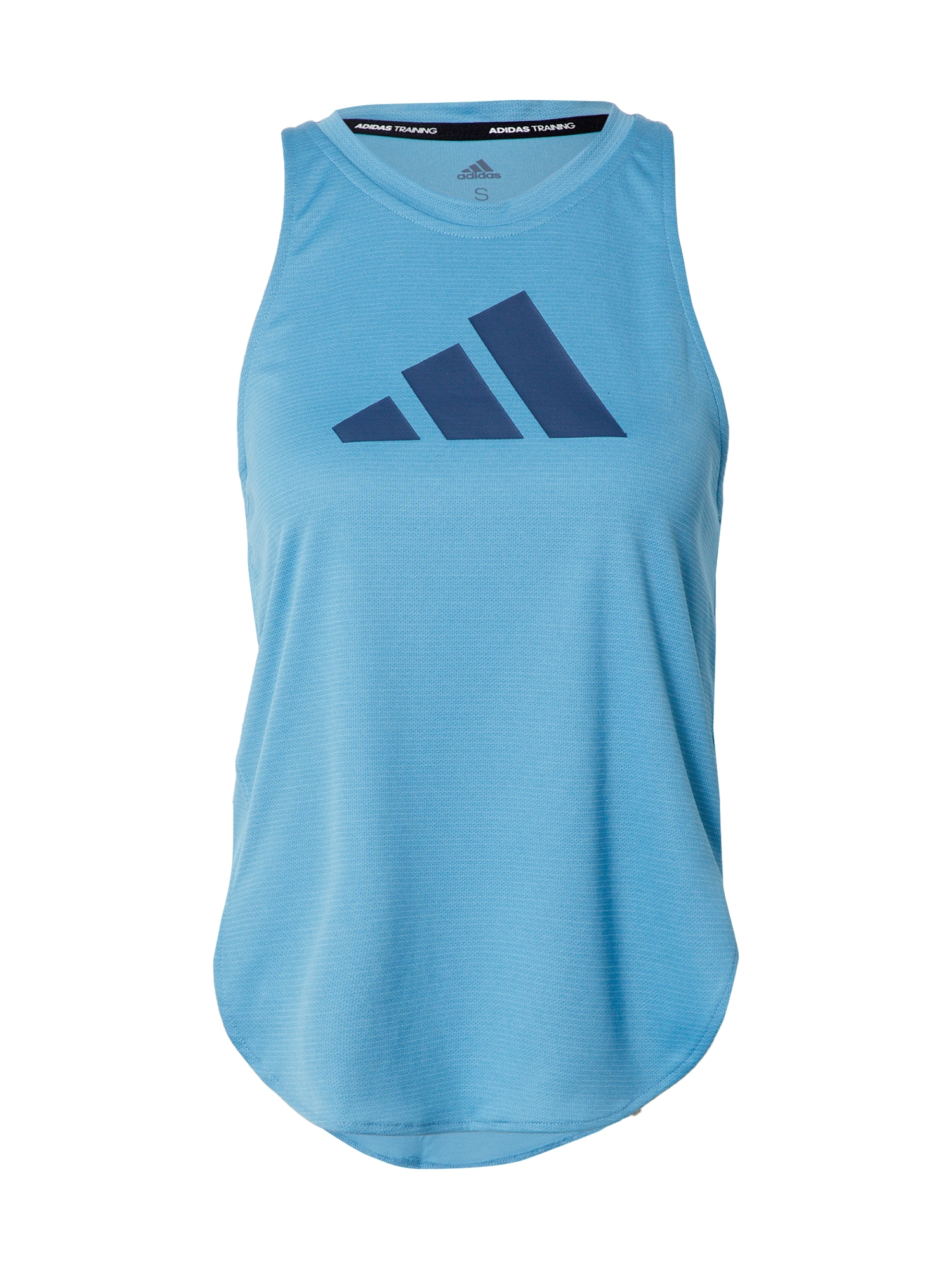 ADIDAS PERFORMANCE Sportiniai marškinėliai be rankovių tamsiai mėlyna / dangaus žydra