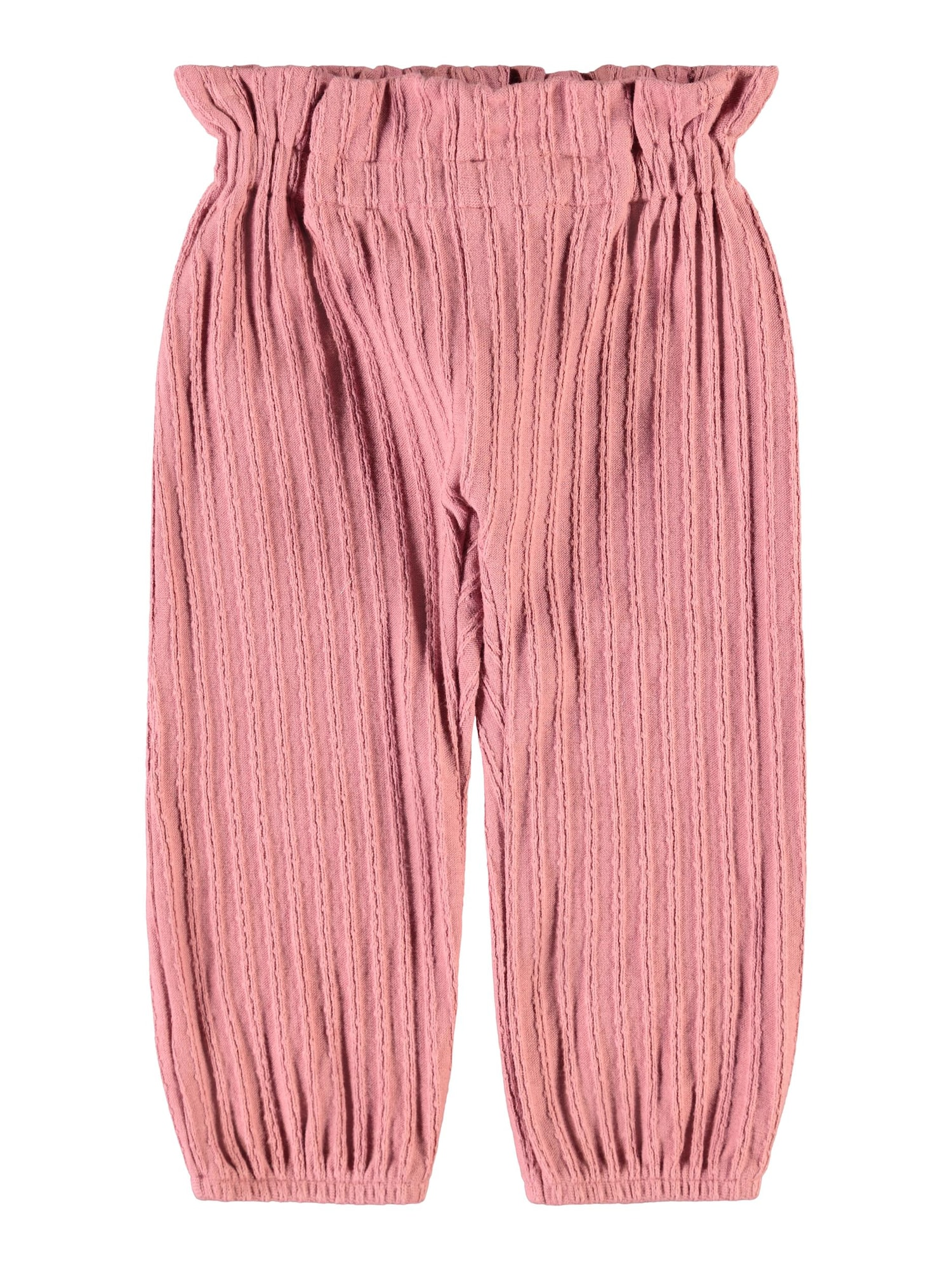 NAME IT Kelnės ryškiai rožinė spalva