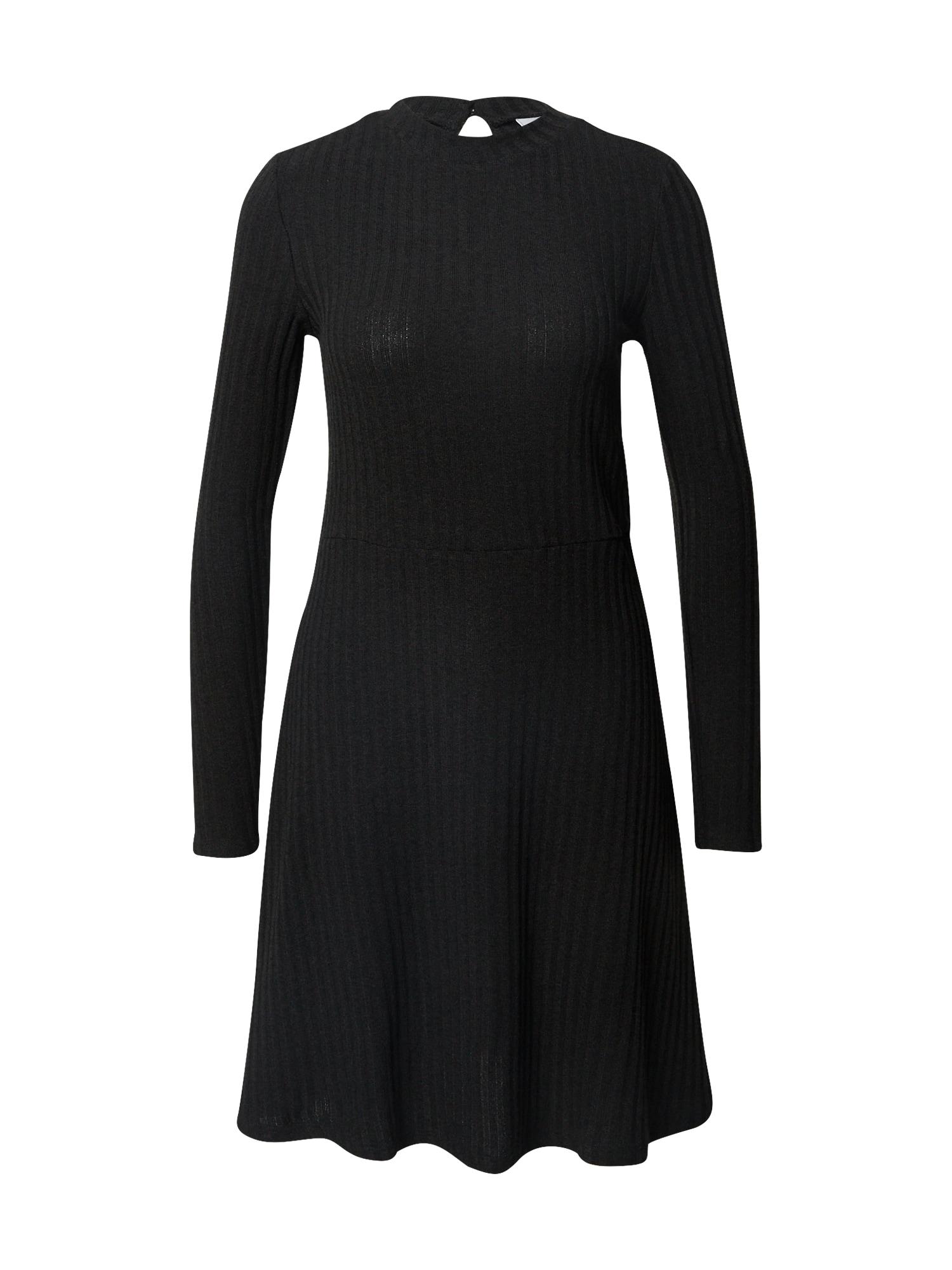 VILA Košilové šaty 'Elita'  černá
