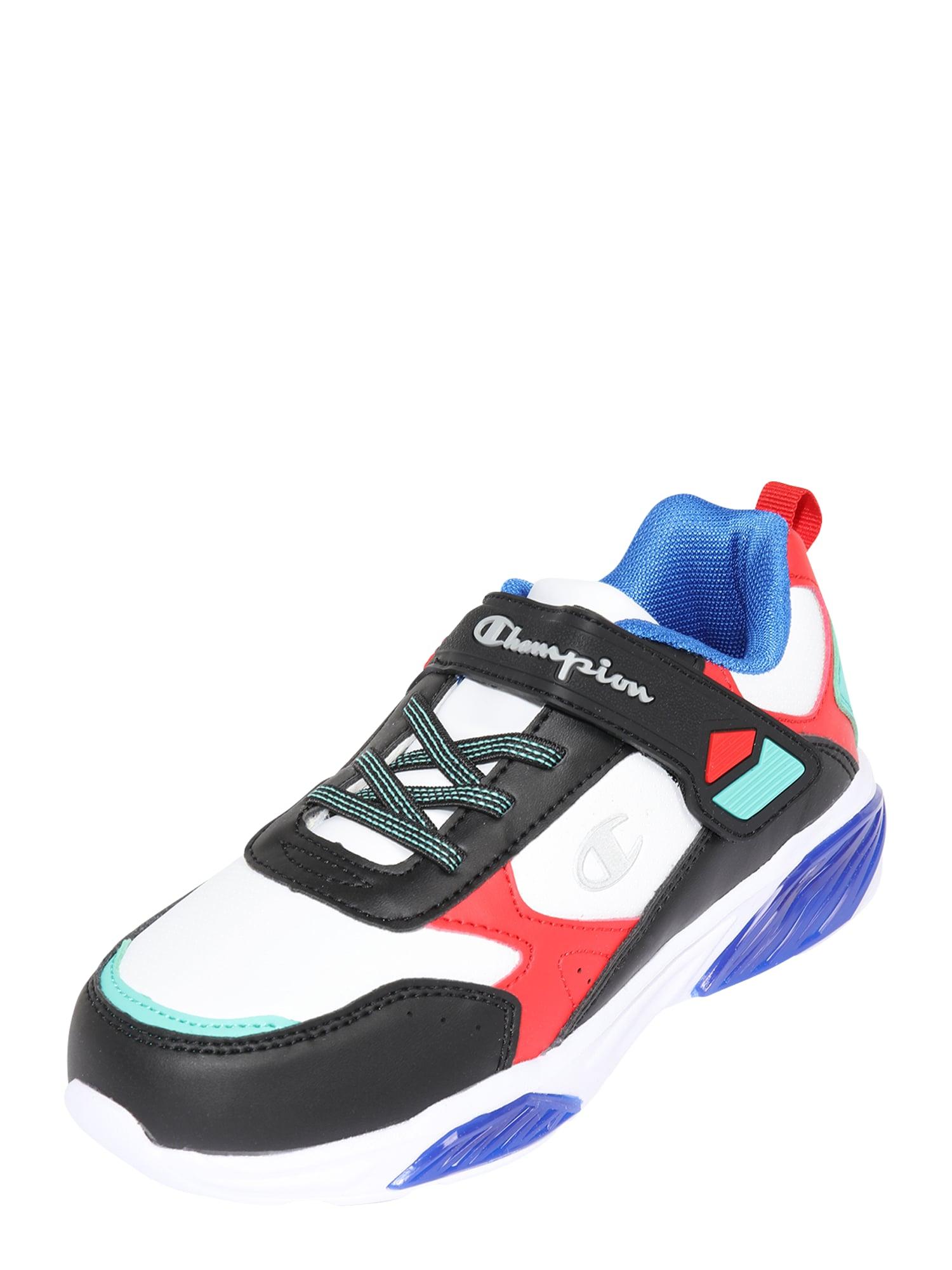 Champion Authentic Athletic Apparel Tenisky  bílá / černá / červená / mátová / modrá