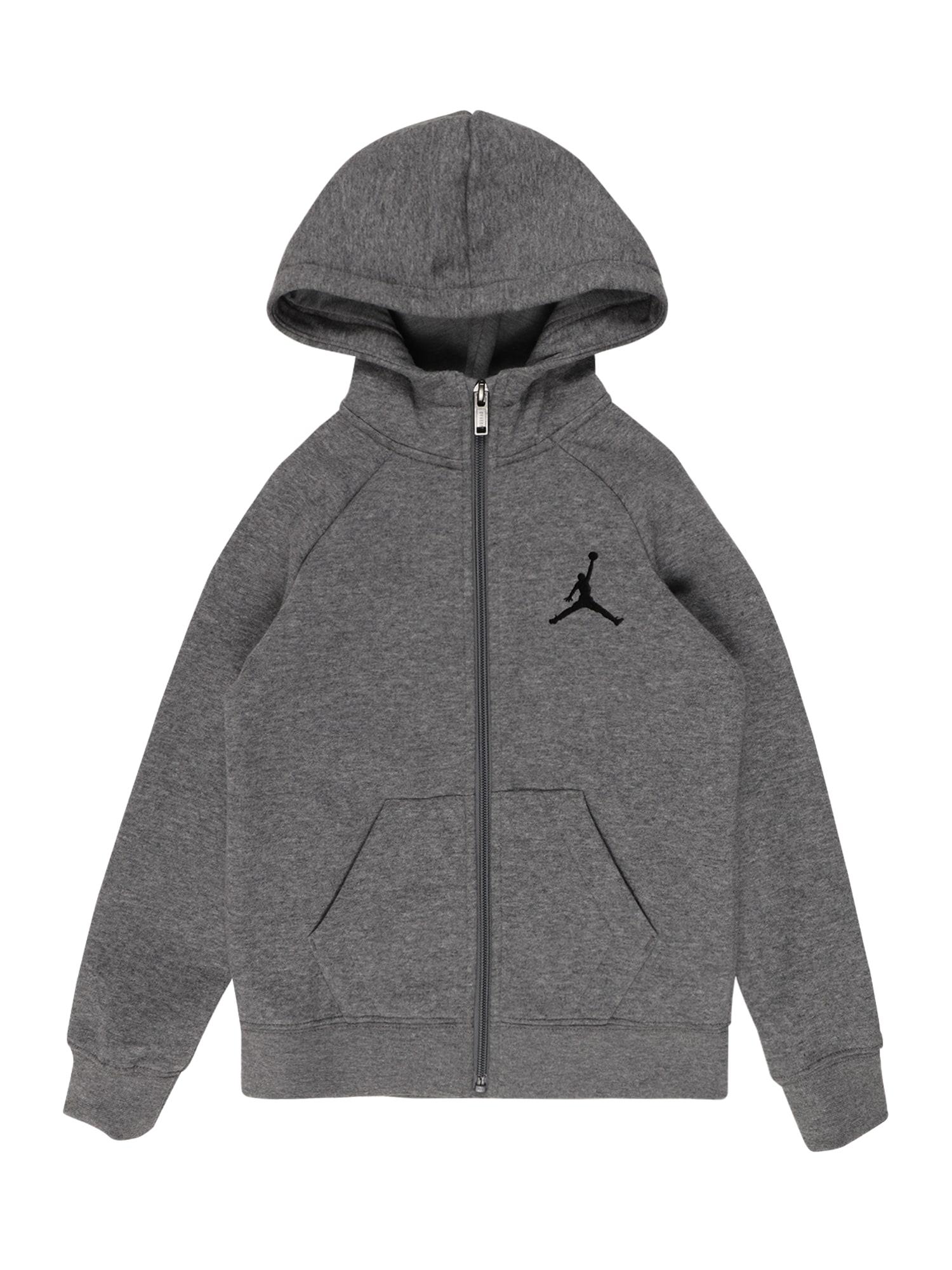 Jordan Džemperis 'JUMPMAN' pilka / juoda