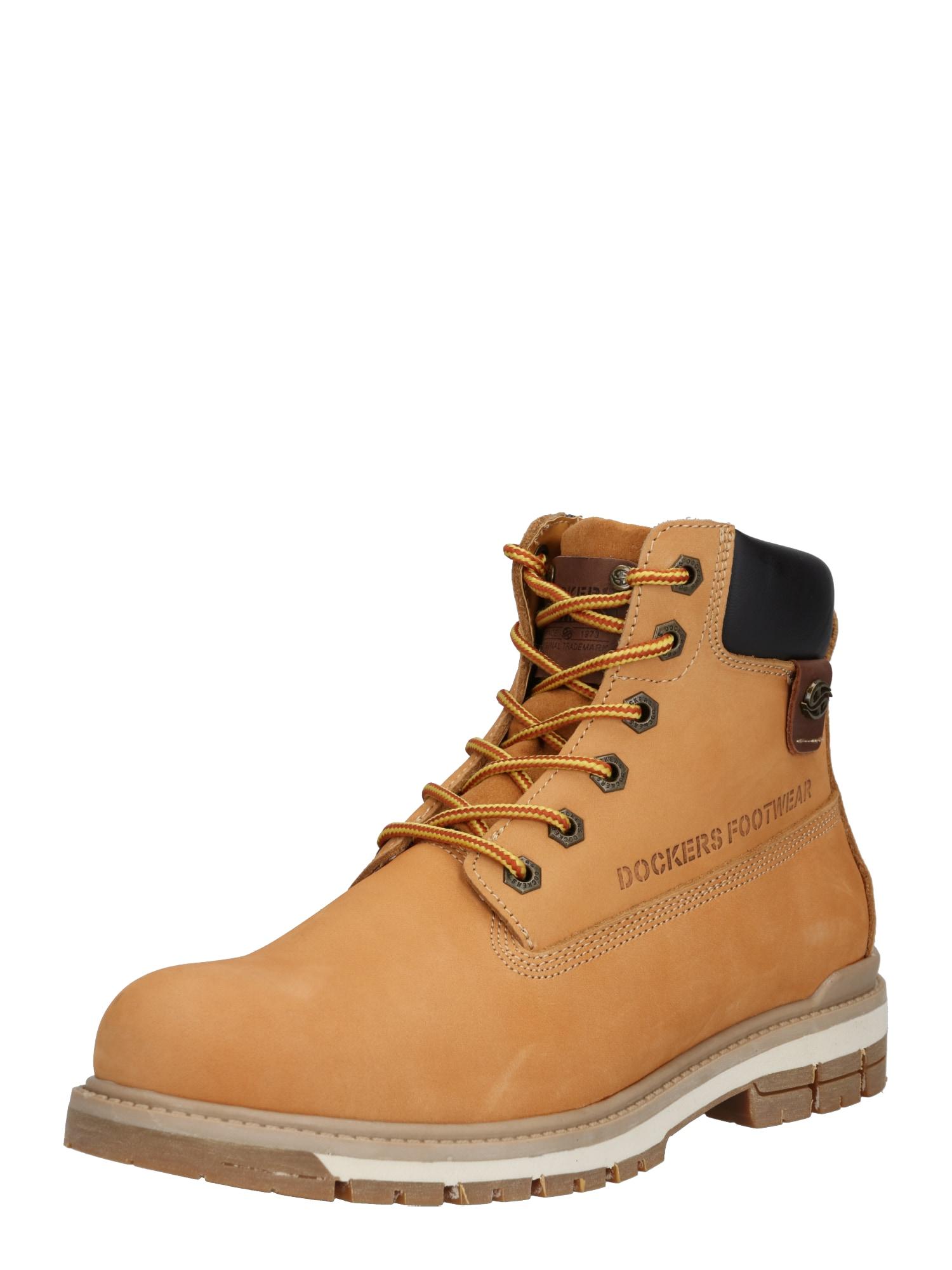 Dockers by Gerli Auliniai batai su raišteliais ruda (konjako) / juoda
