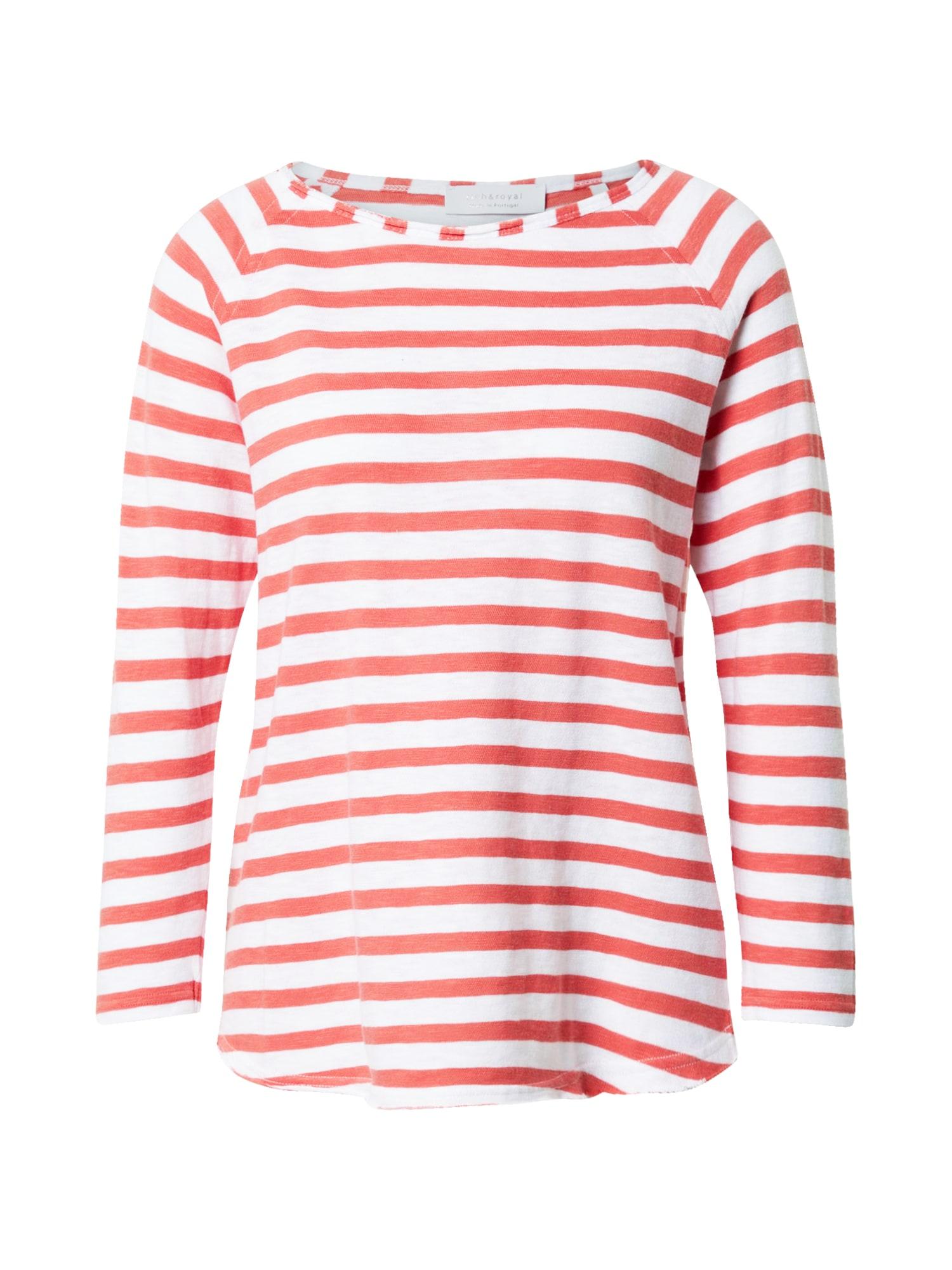 Rich & Royal Marškinėliai raudona / balta