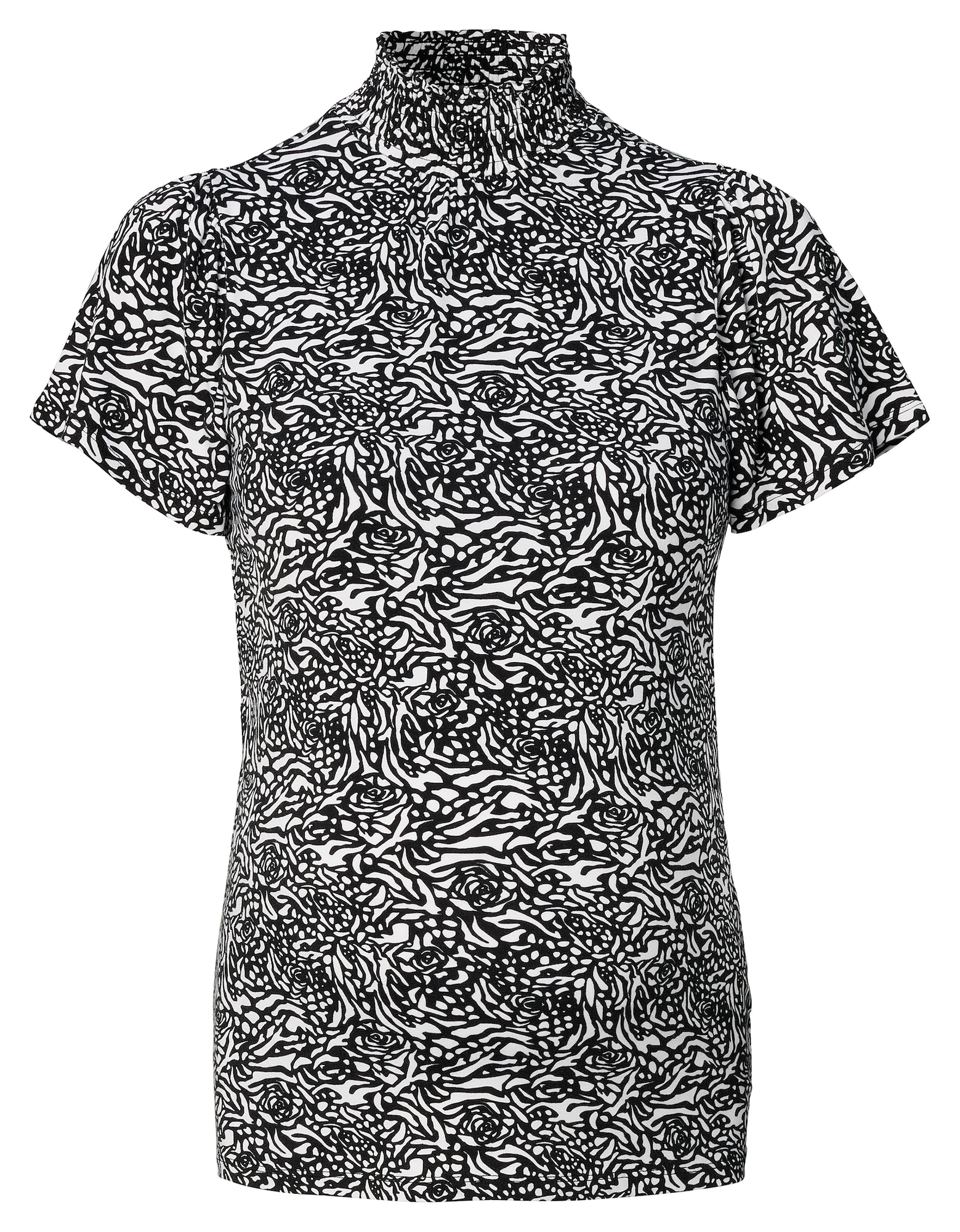 Supermom Marškinėliai juoda / balta