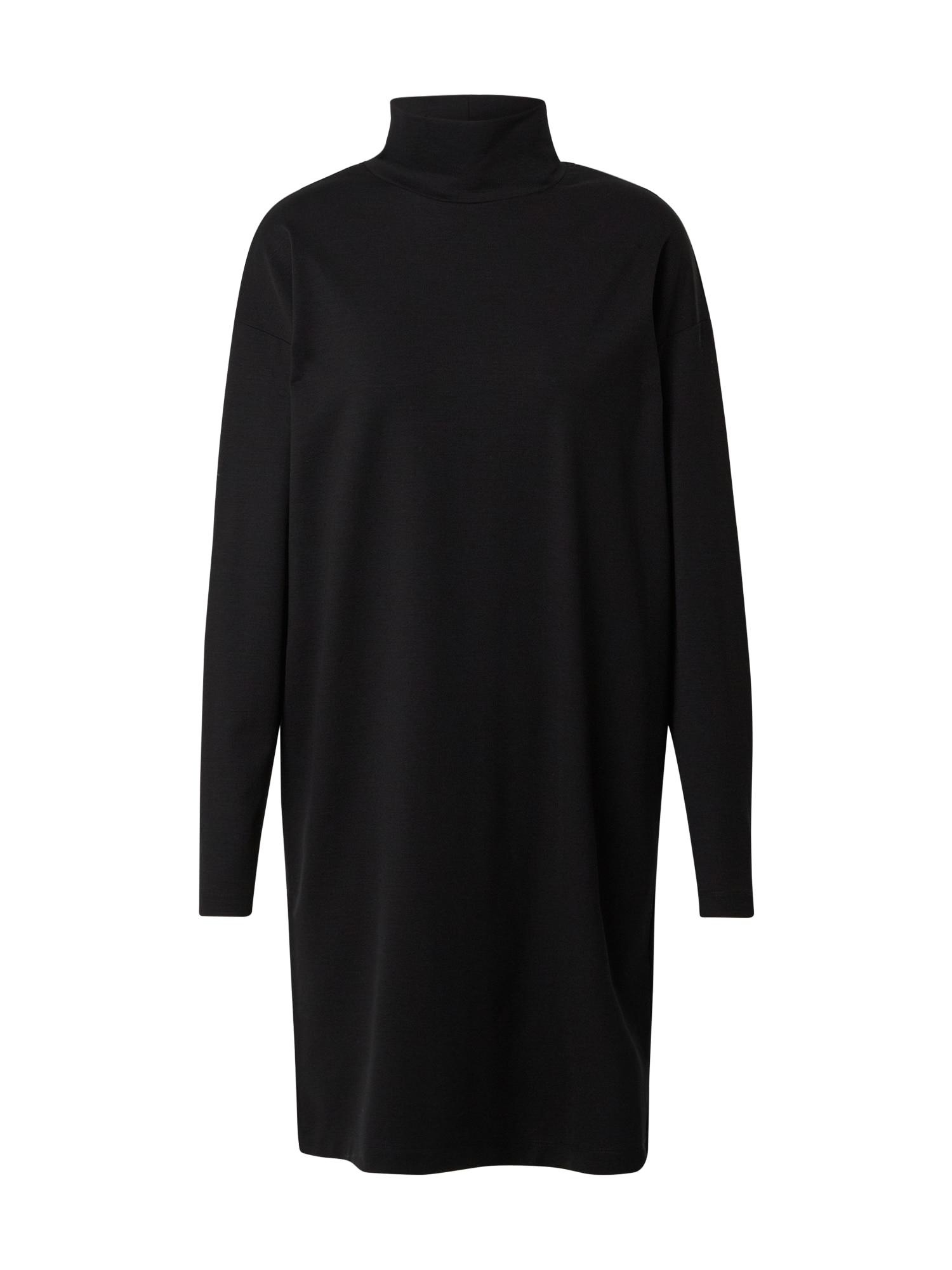 DRYKORN Megzta suknelė juoda