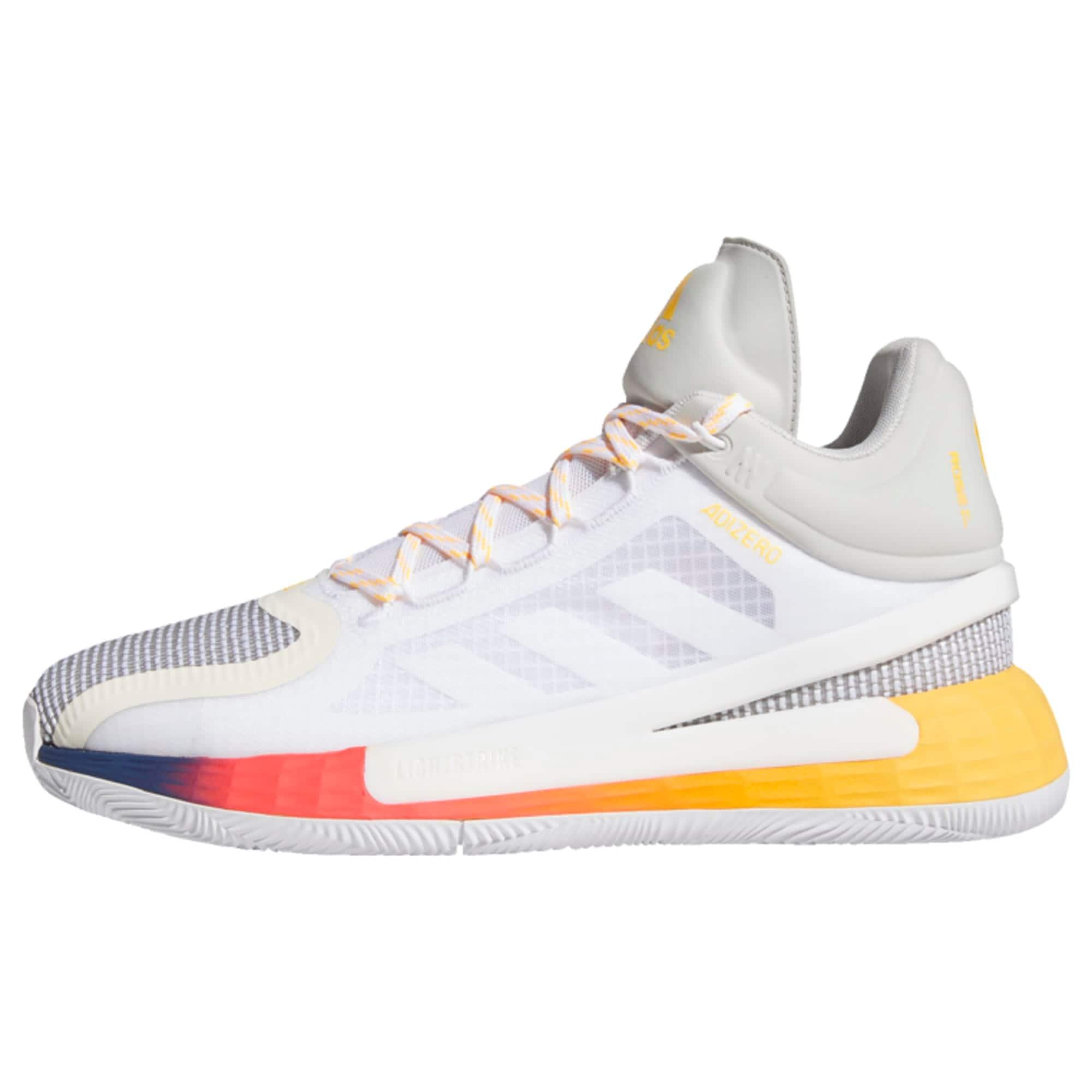 ADIDAS PERFORMANCE Sportiniai batai balta / pilka / geltona / raudona / mėlyna