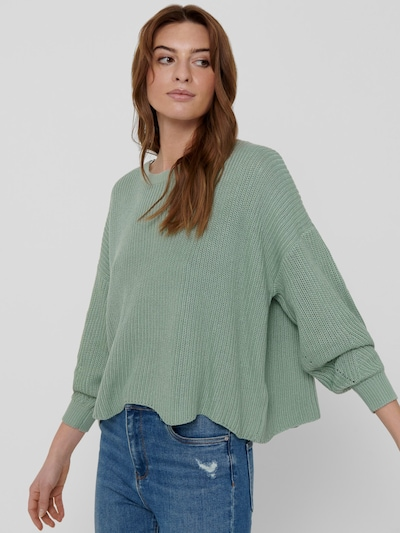 Only Hilde Life Langarm-Strickpullover mit Rippenmuster