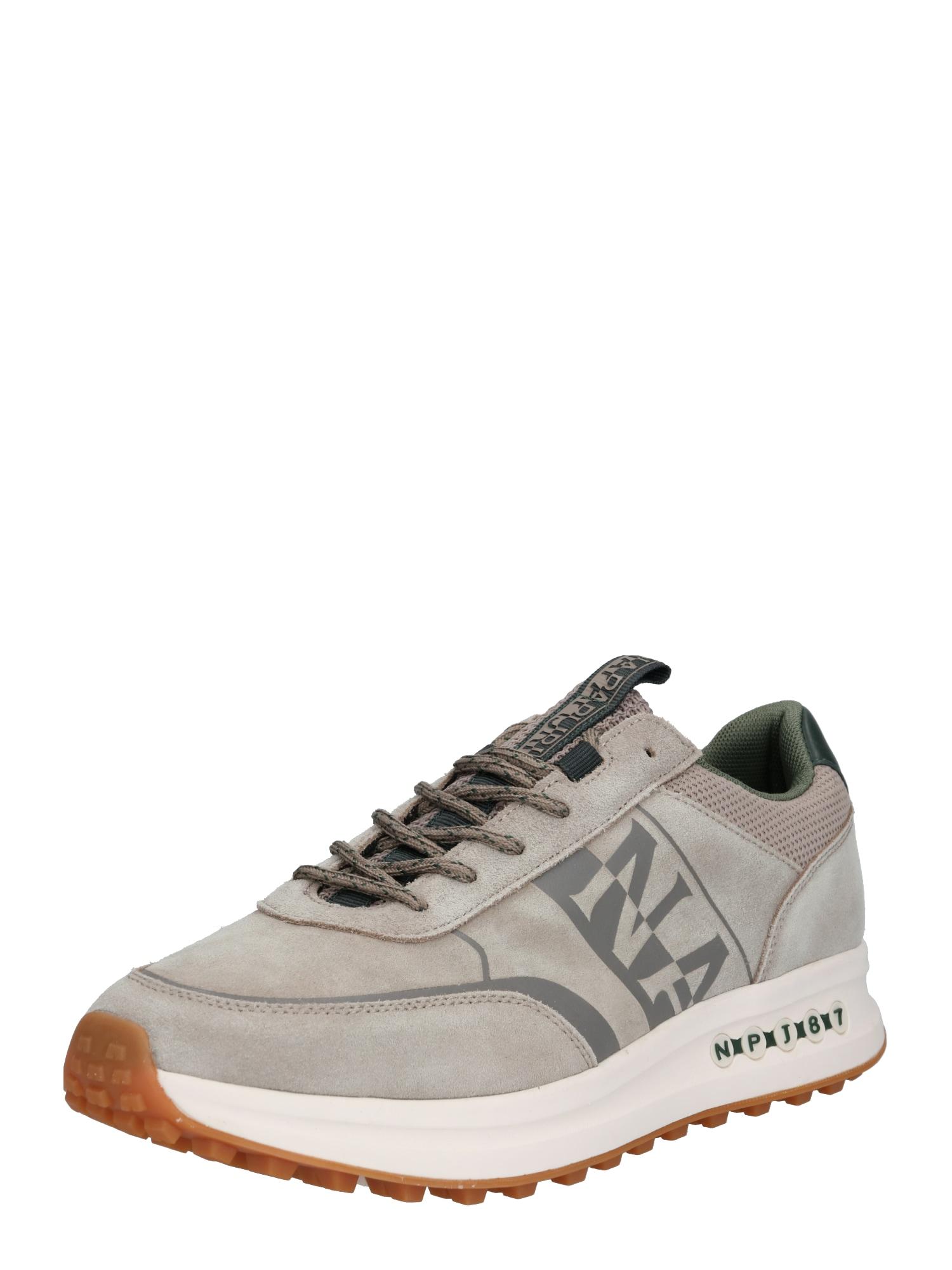 NAPAPIJRI Tenisky 'SLATE02'  béžová / grafitová