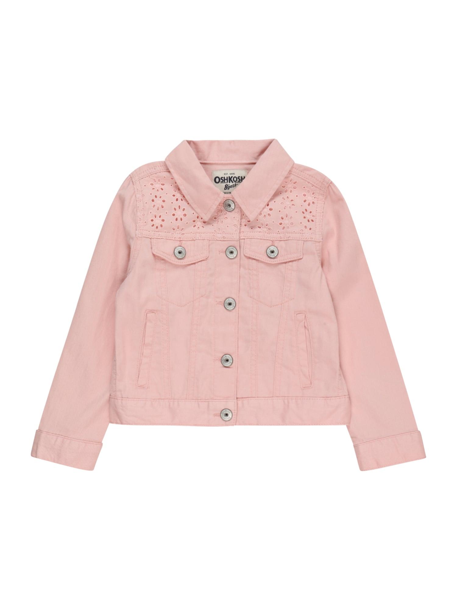 OshKosh Demisezoninė striukė ryškiai rožinė spalva