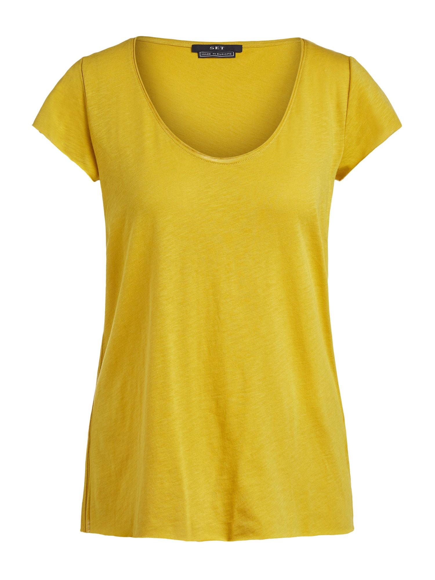 SET Marškinėliai garstyčių spalva