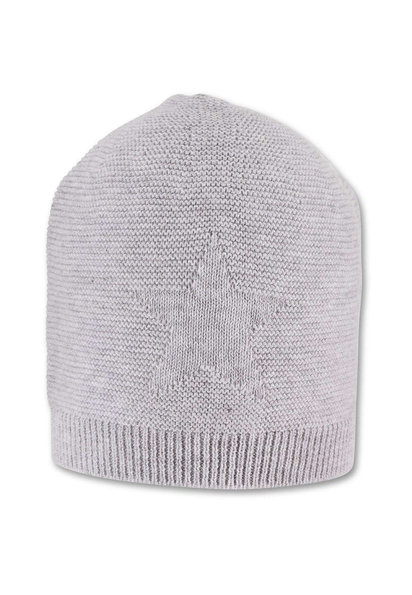 STERNTALER Megzta kepurė šviesiai pilka