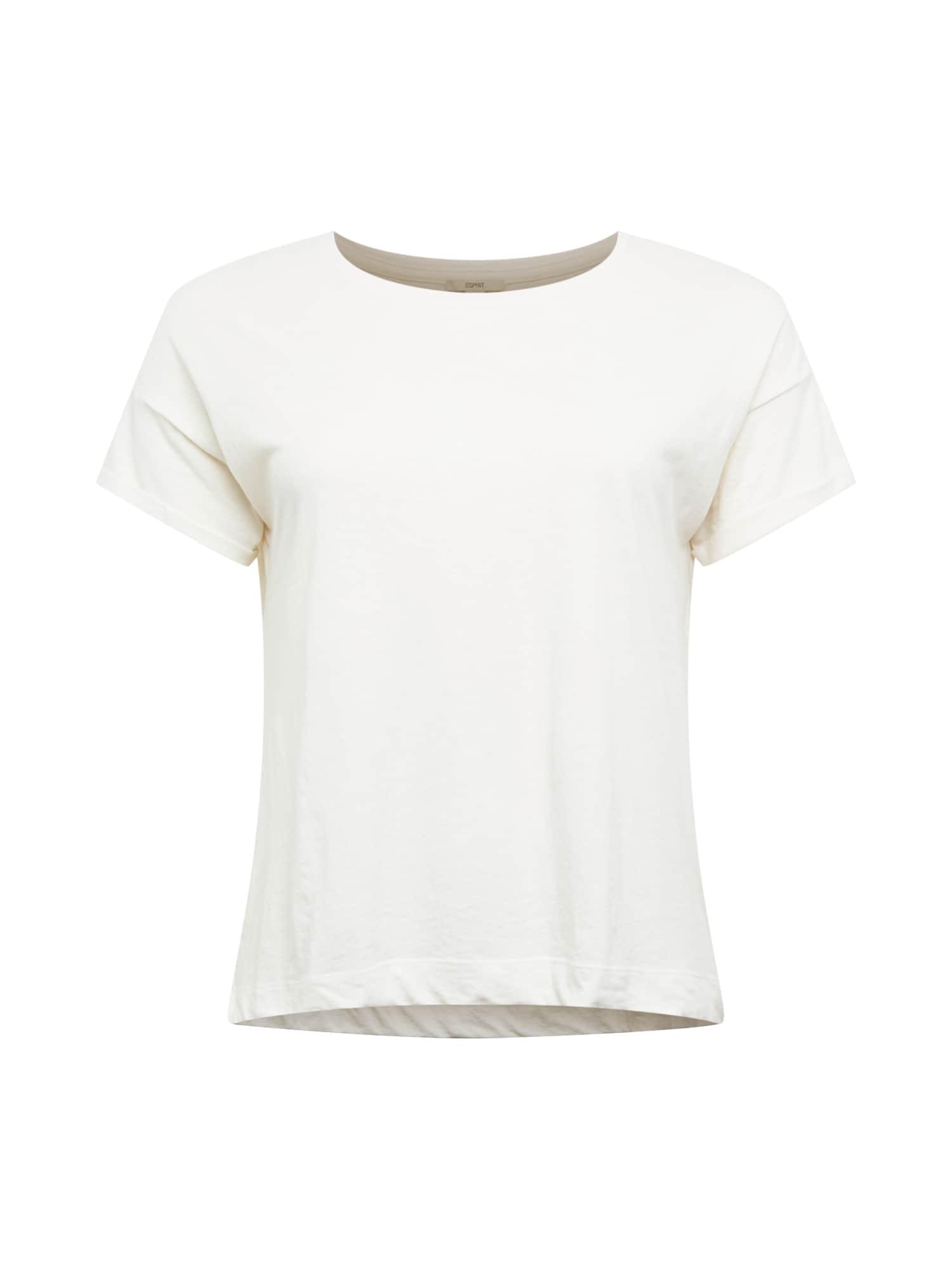 Esprit Curves Marškinėliai balkšva