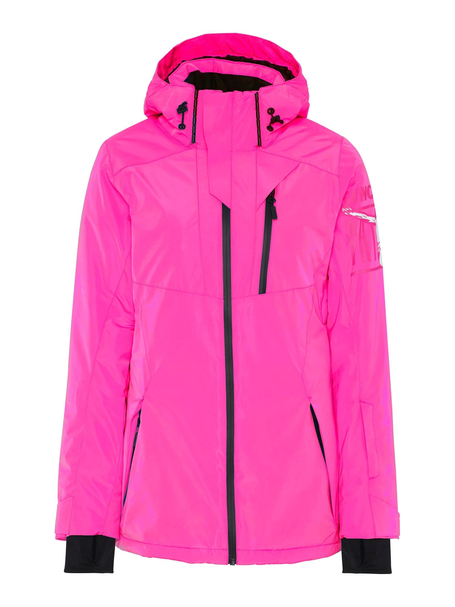 CHIEMSEE Sportovní bunda 'Ruka'  pink / černá