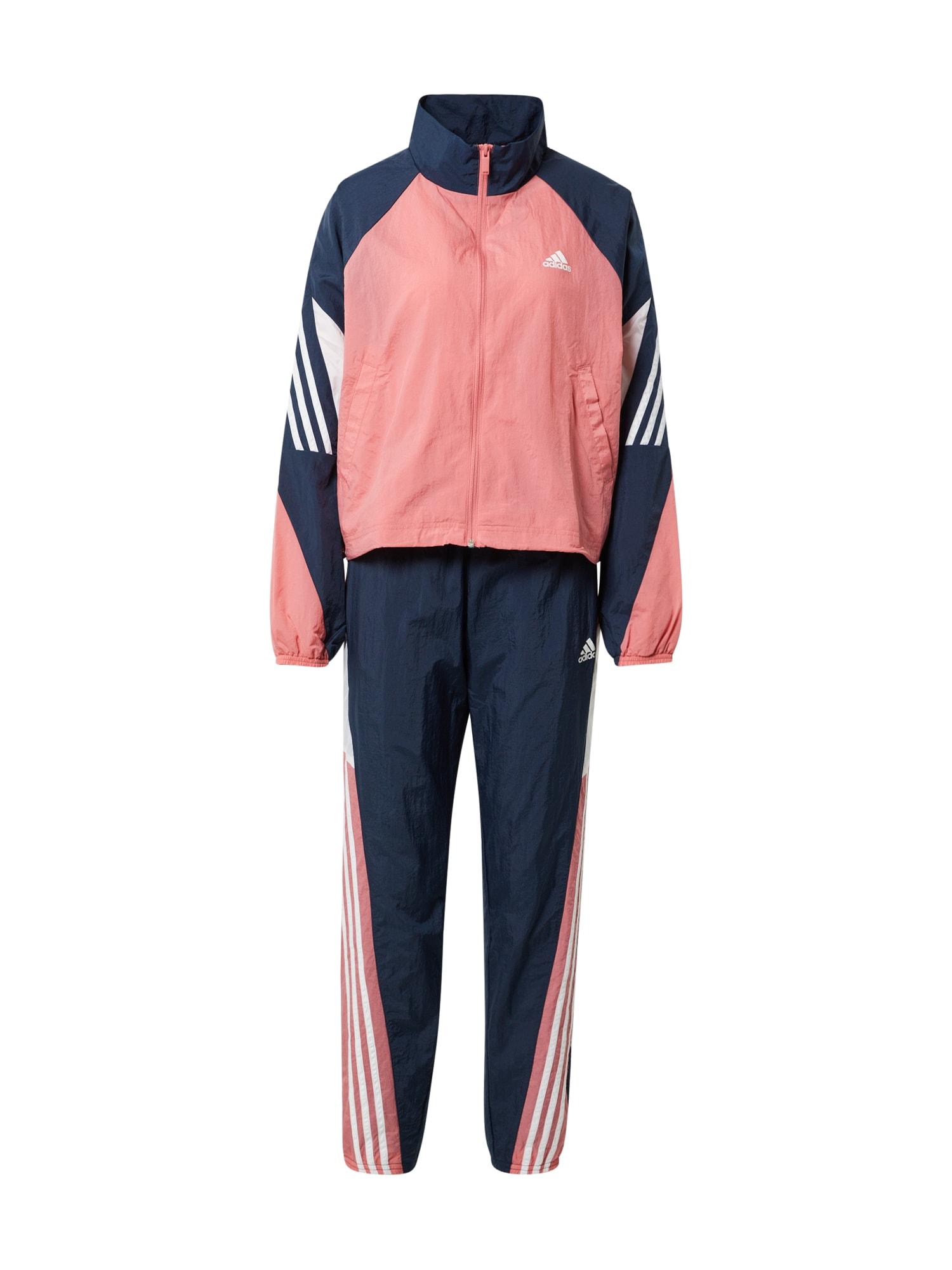 ADIDAS PERFORMANCE Sportinis kostiumas 'Game-Time' tamsiai mėlyna / balta / rožinė