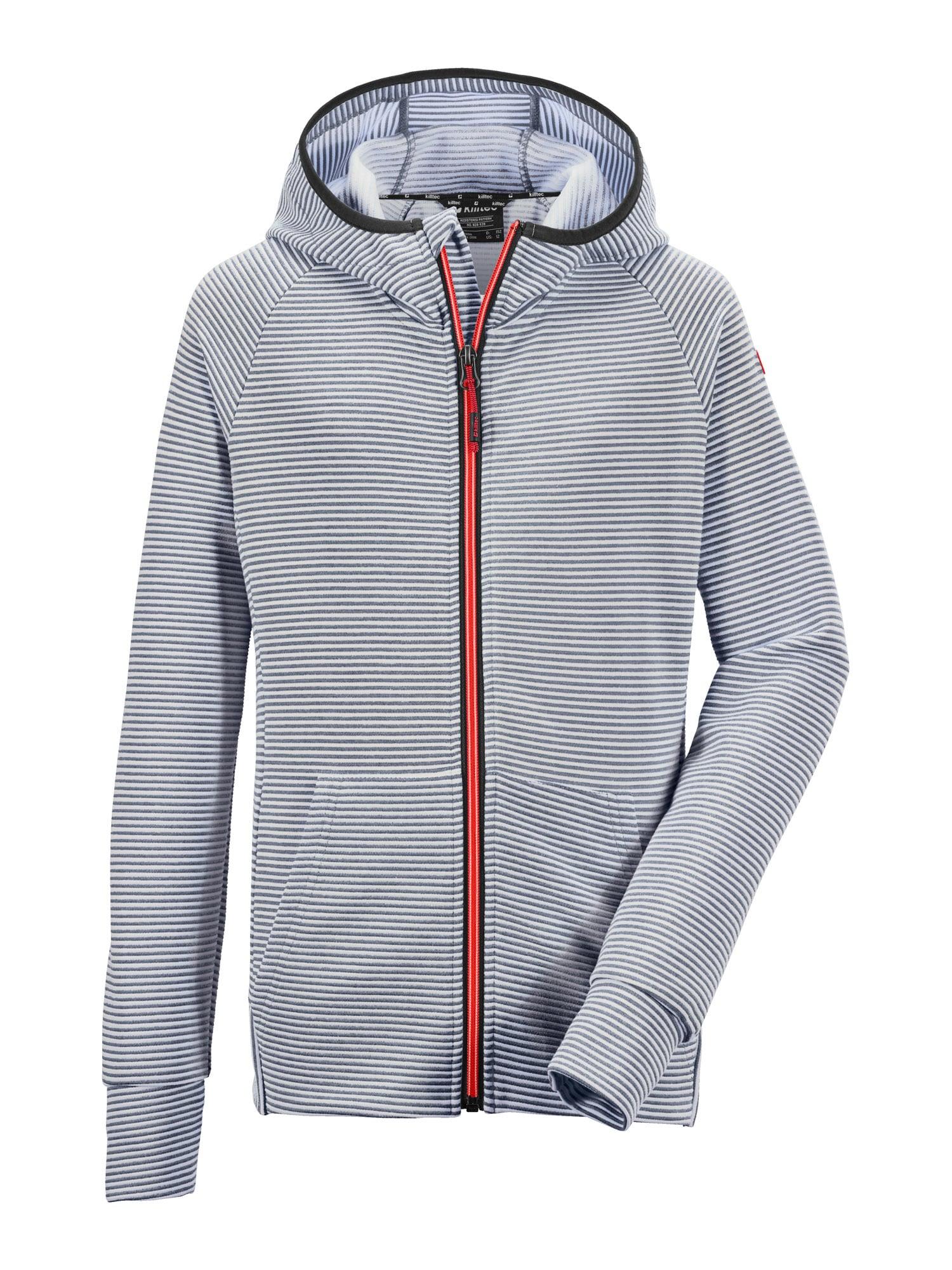 KILLTEC Sportinis džemperis 'Rodeny' tamsiai mėlyna / balta