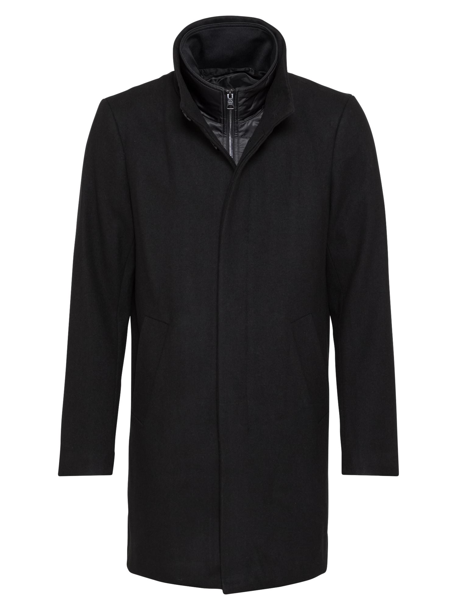 Matinique Demisezoninis paltas 'Harvey' juoda