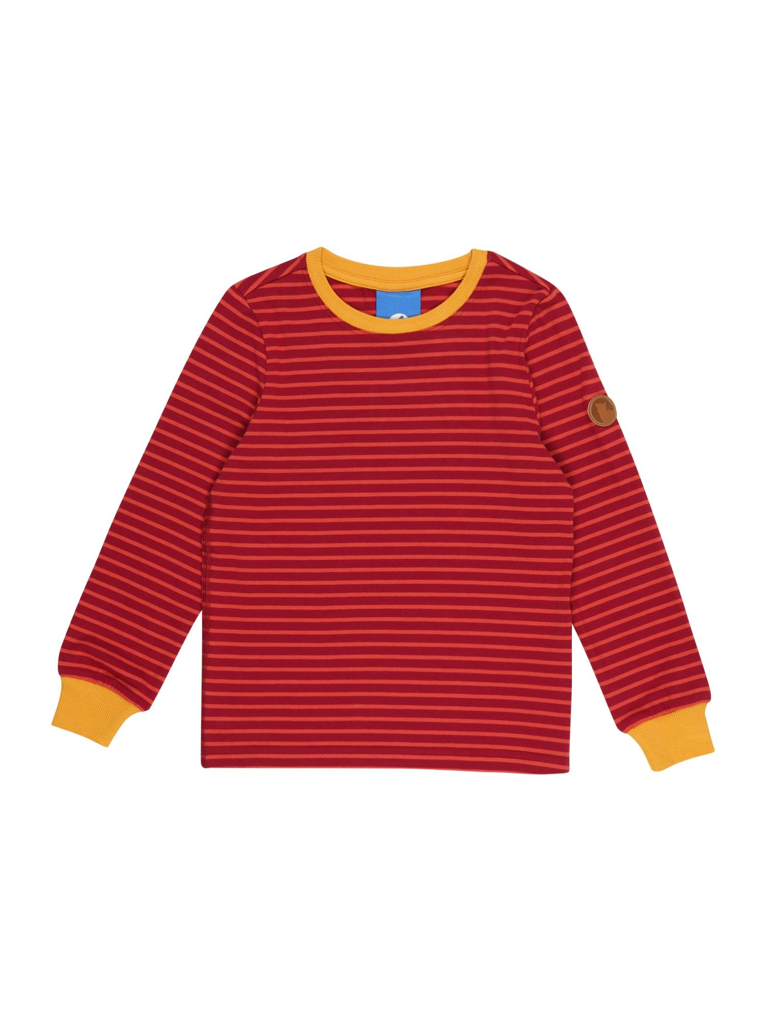 FINKID Marškinėliai karmino raudona / melionų spalva / aukso geltonumo spalva