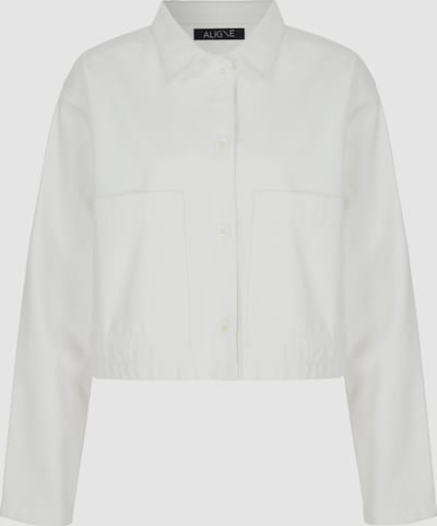 CYPRUS Weite Hemdjacke mit Taschen