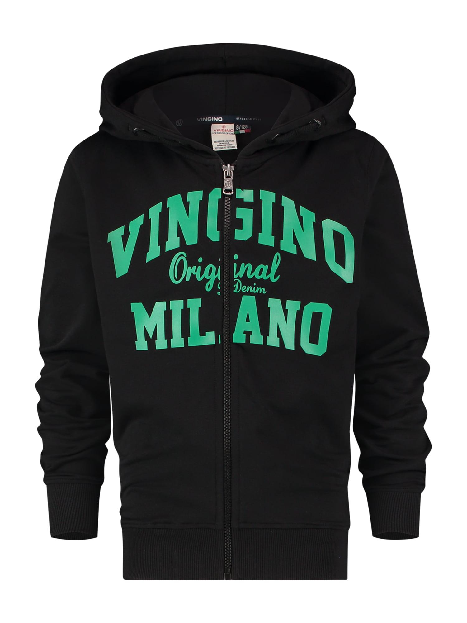 VINGINO Džemperis juoda / žalia