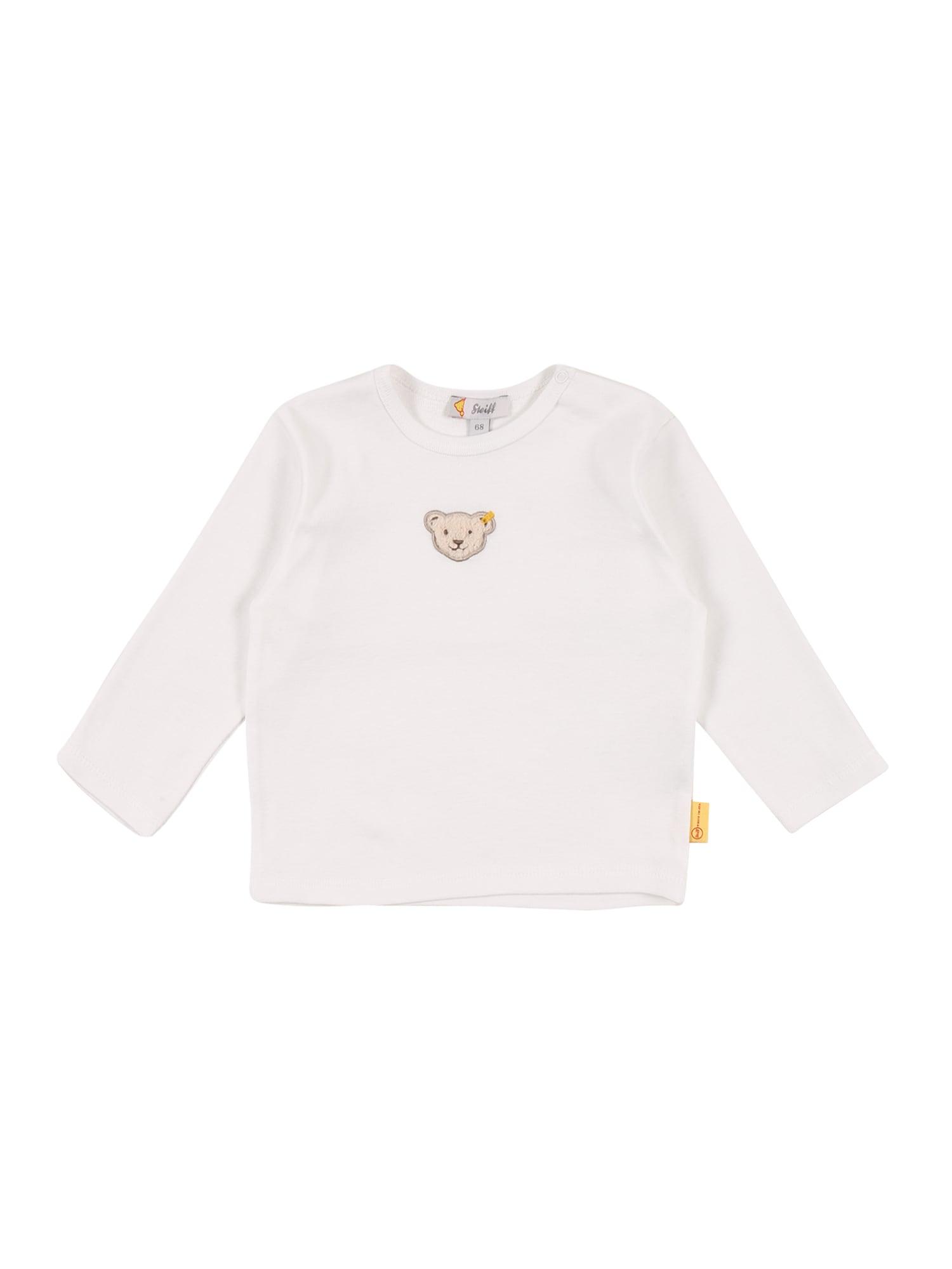 Steiff Collection Marškinėliai balta / smėlio